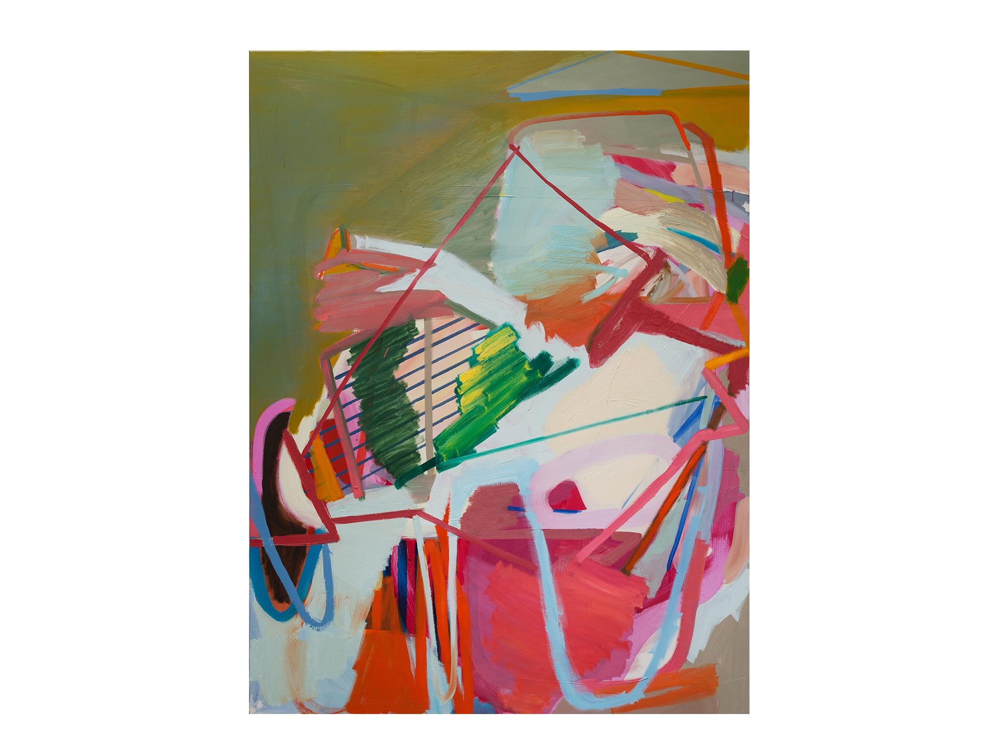 Julia Powles   Radioactive Me , 2017 oil on canvas 188 x 139cm   ARTIST BIO