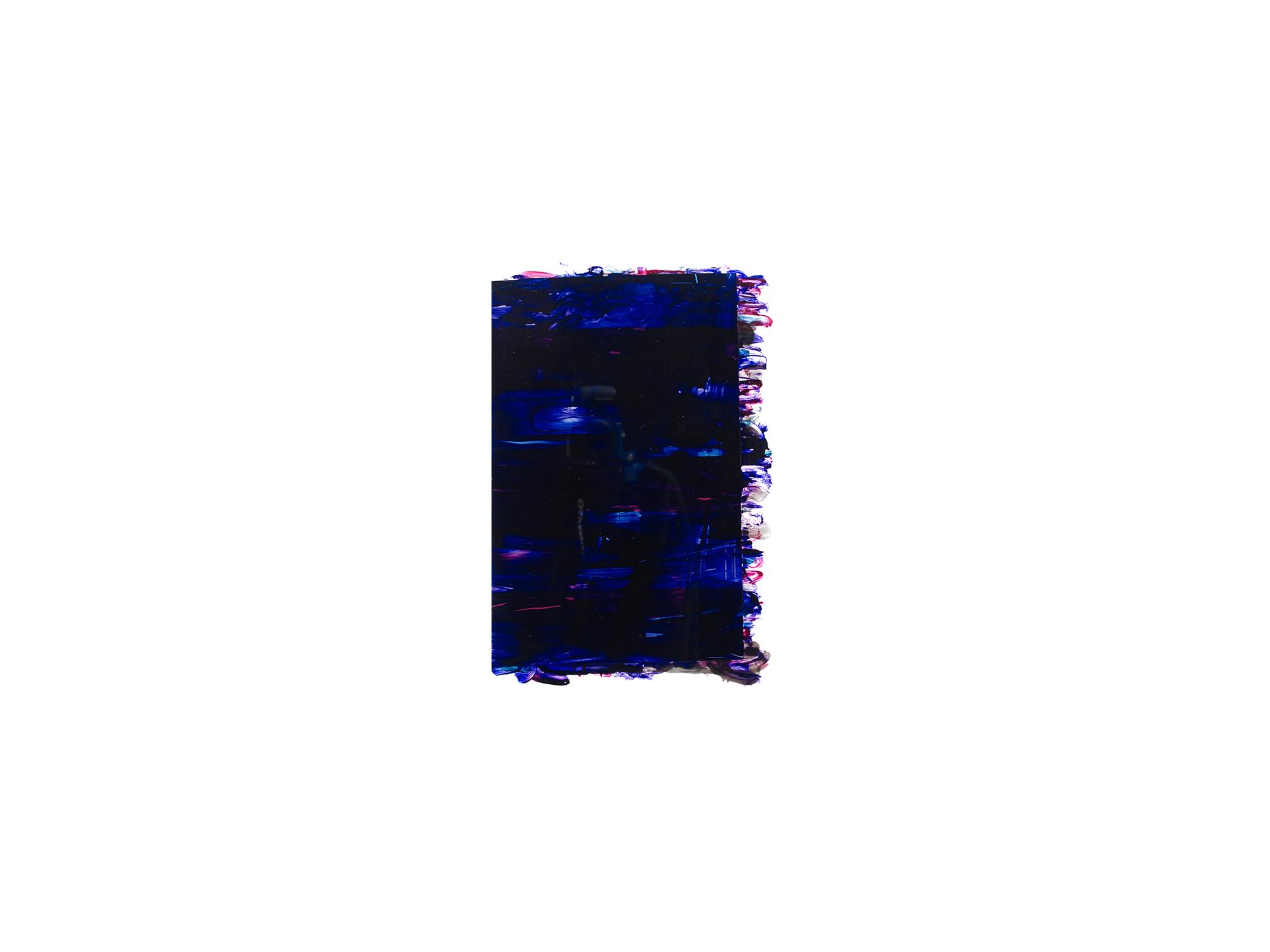 Michael Jäger   Bells #33 , 2014 acrylglas, oil, acrylic and lacquer on Dibond 39 x 26 cm