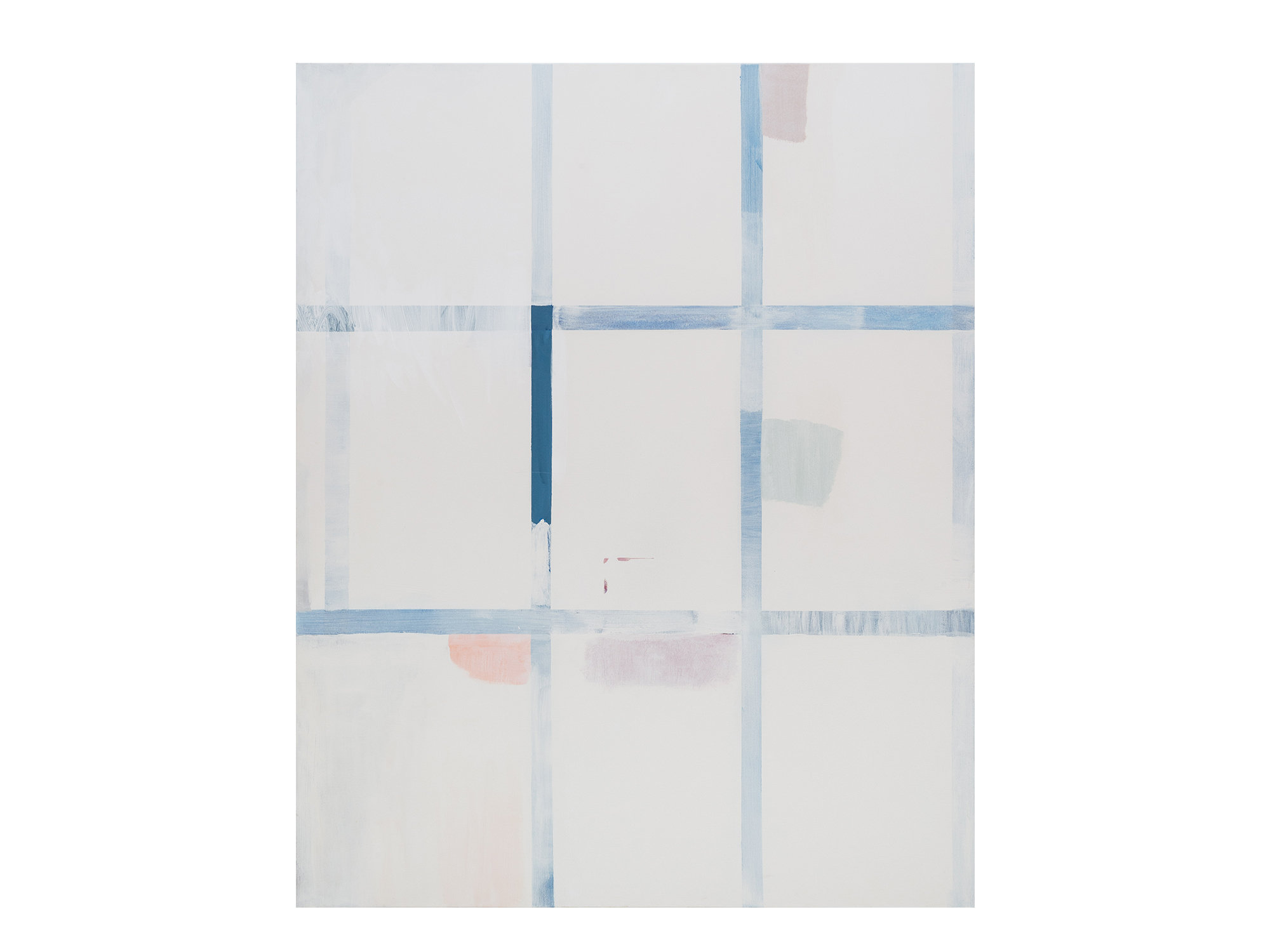 Antonia Sellbach   Here /There, 2016 acrylic polymer on linen 137 x 112cm