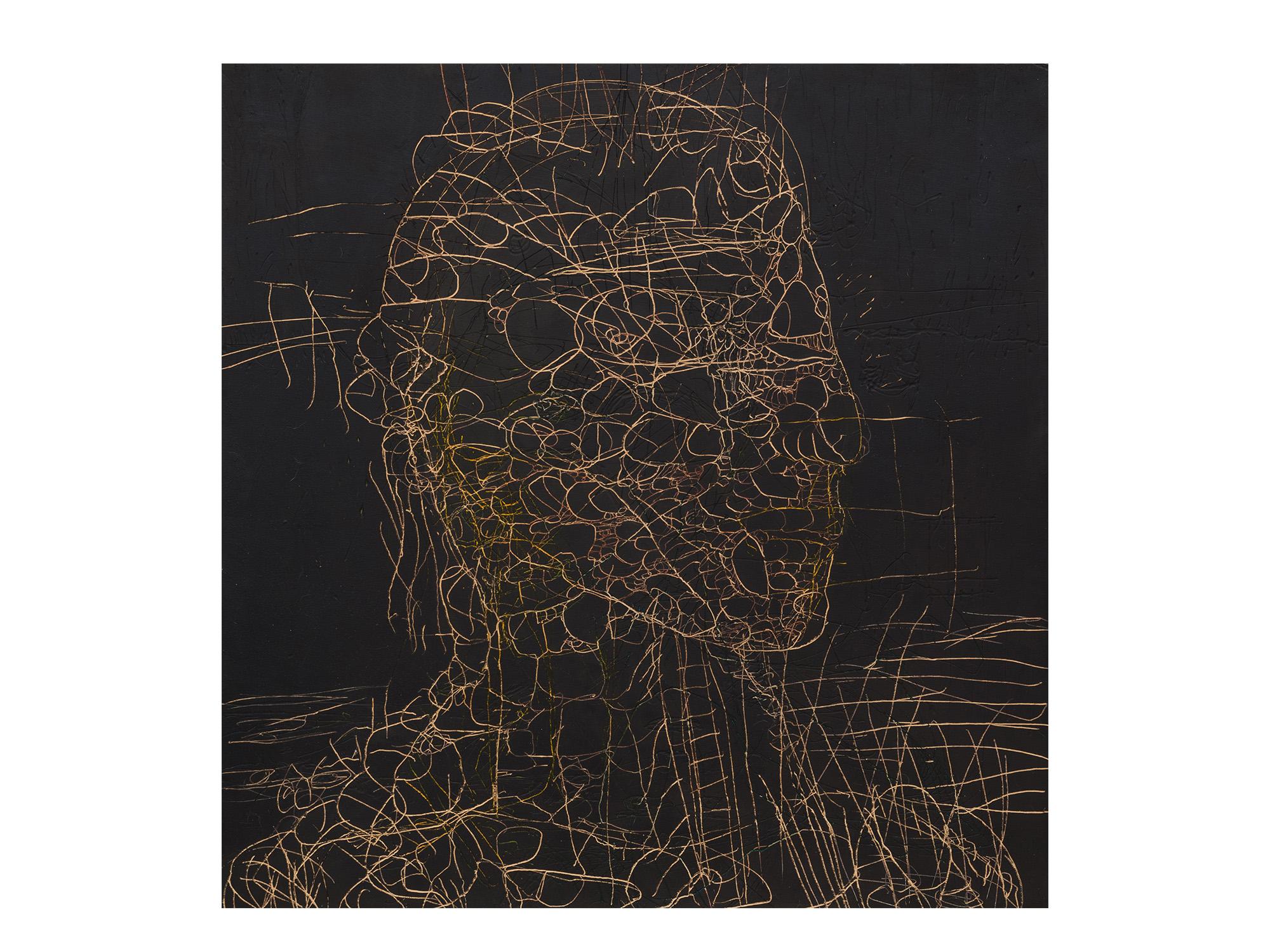 Robert Doble   Captain Cook , 2018 oil on archival marine ply 120 x 122cm   ARTIST BIO