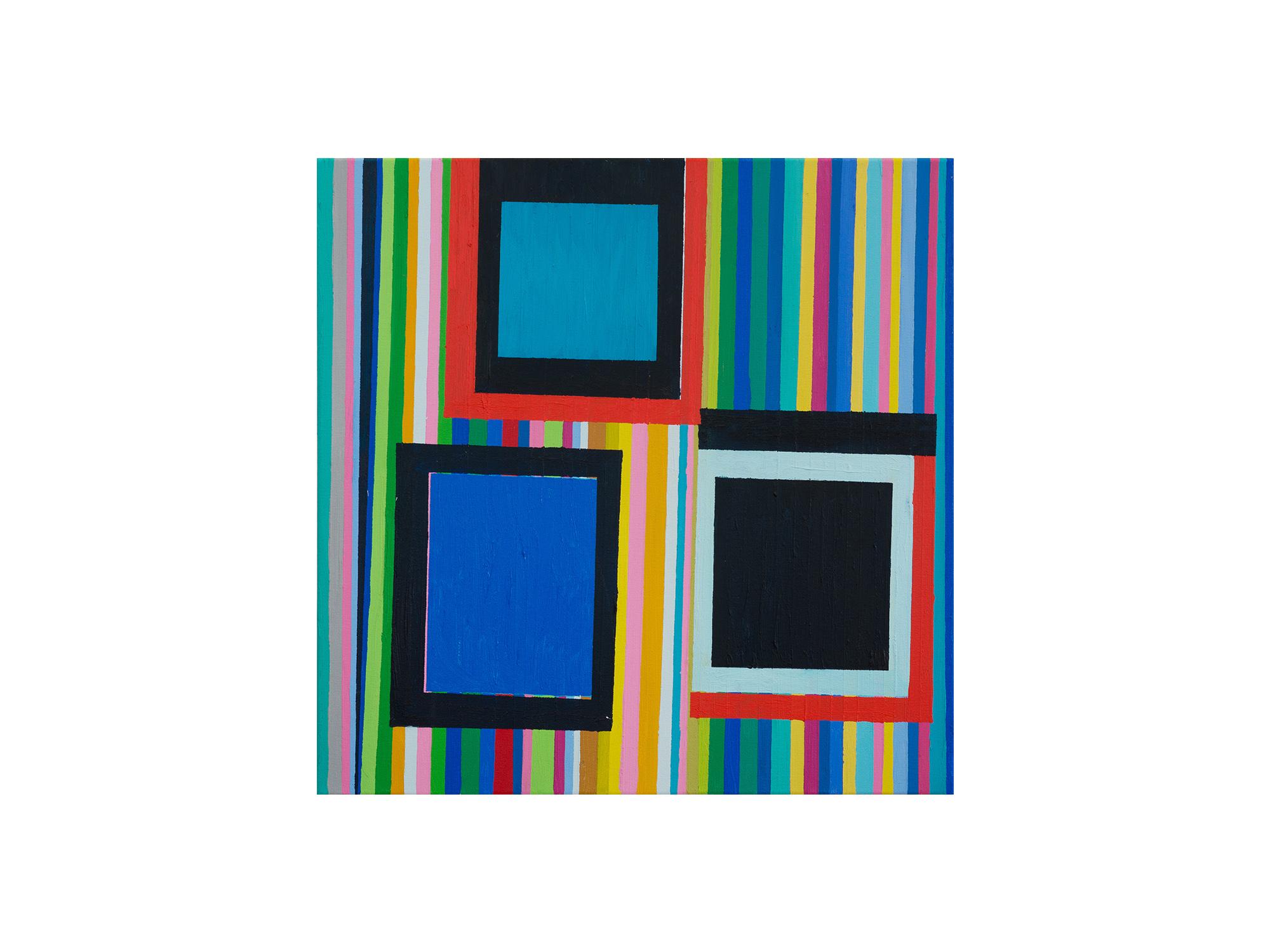 Melinda Harper   Untitled , 2018 oil on canvas 61.5 x 61.5cm   ARTIST BIO