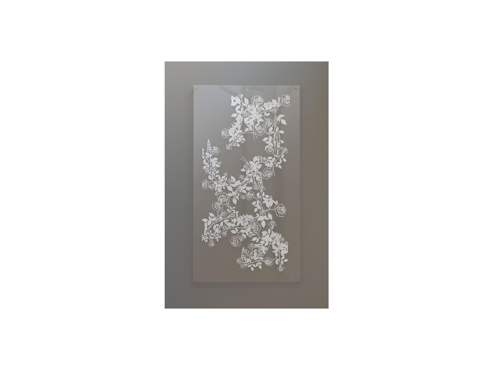 Emma van Leest   Recital,      2010 hand-cut archival paper mounted between perspex 167 x 117cm