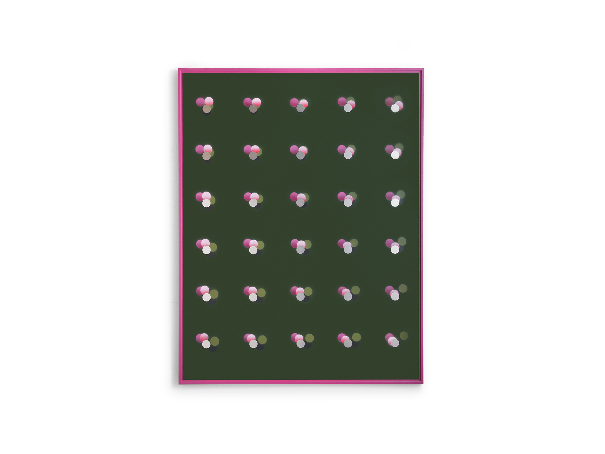 Will Cooke   Liquid Delight , 2018 etch primer, gesso, acrylic on aluminium panel, artist's frame 133.5 x 103.5cm   ARTIST BIO