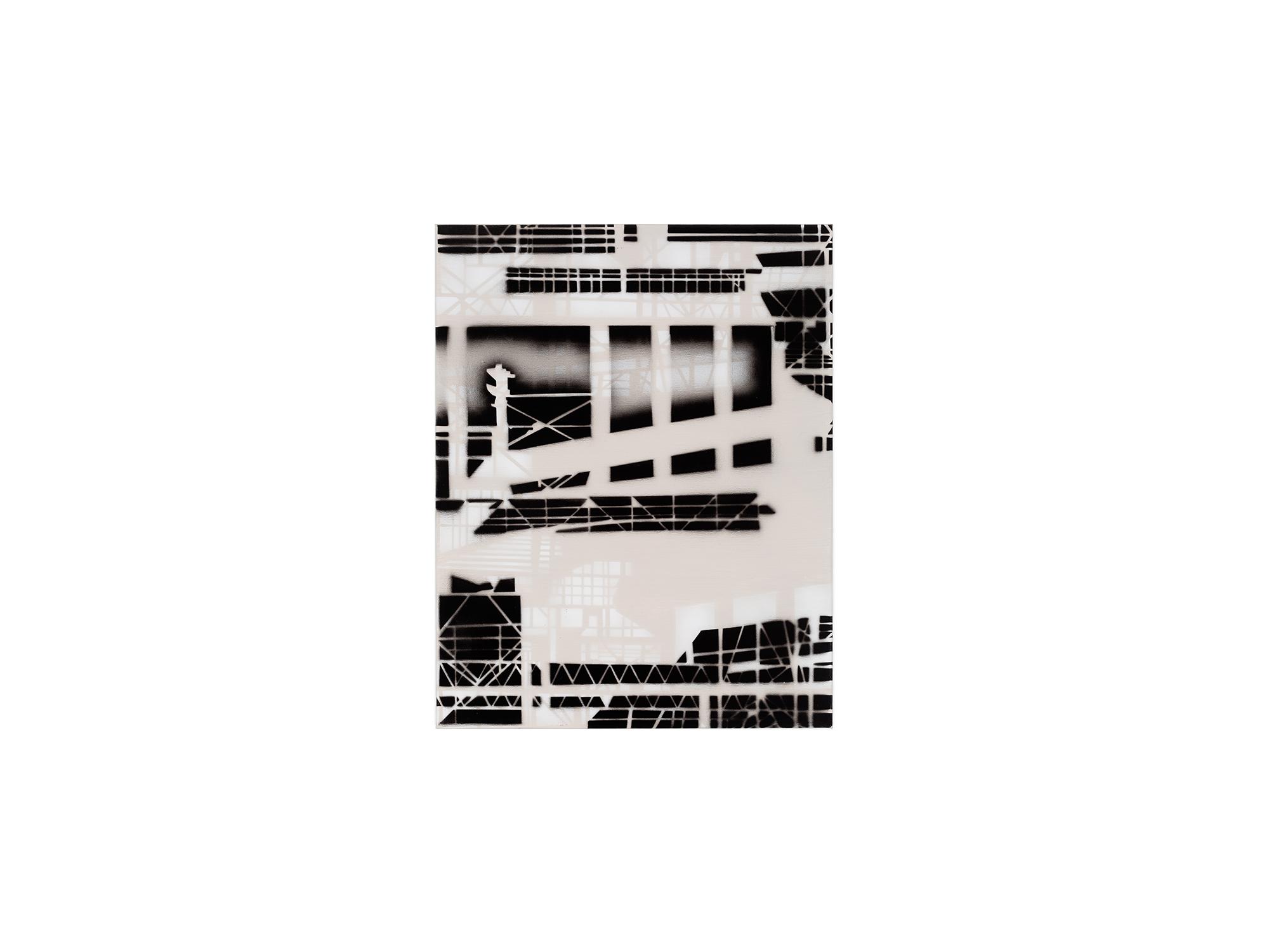 Louise Forthun   Solar,  2018 acrylic on linen 71.5 x 56cm   ARTIST BIO