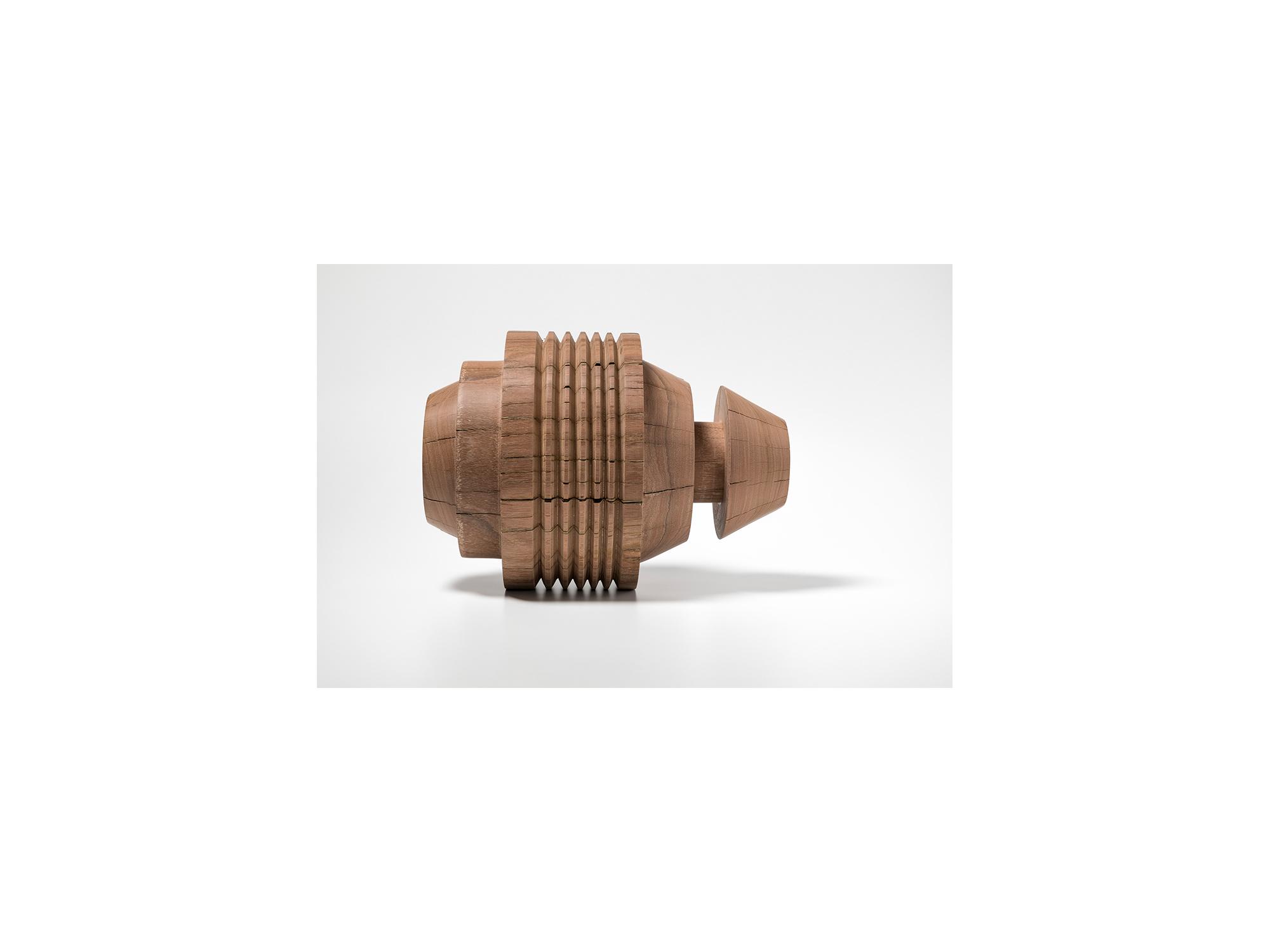 Jo Wilson     Mandrel #2 , 2018  tallowwood 30cm diameter x 38cm