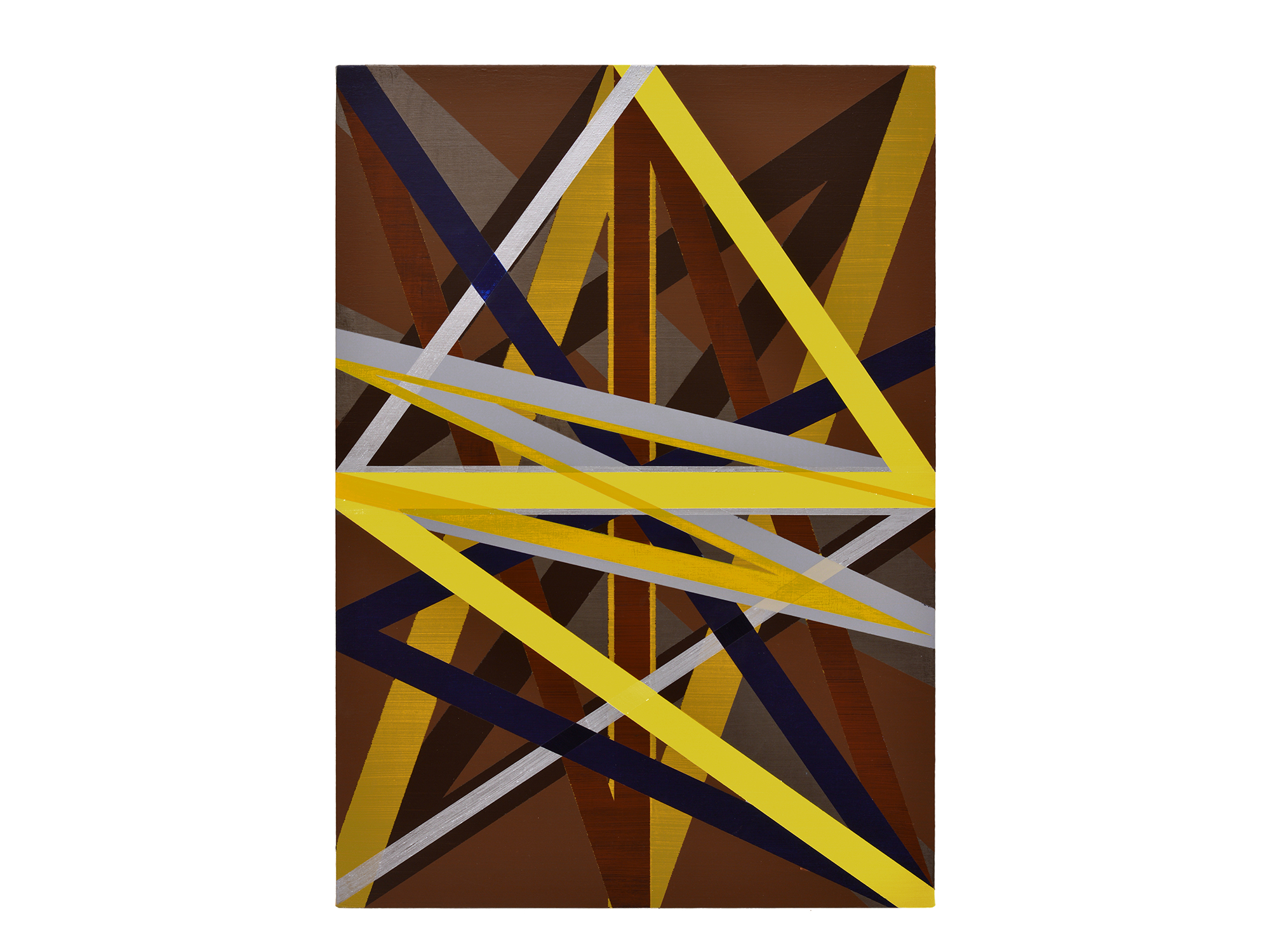 Justin Andrews   Resonance XV , 2017 acrylic on braced canvas panel 84 x 60 cm   ARTIST BIO