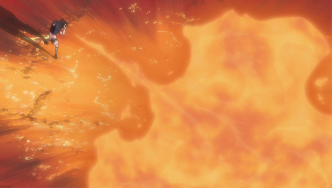 sasuke fire