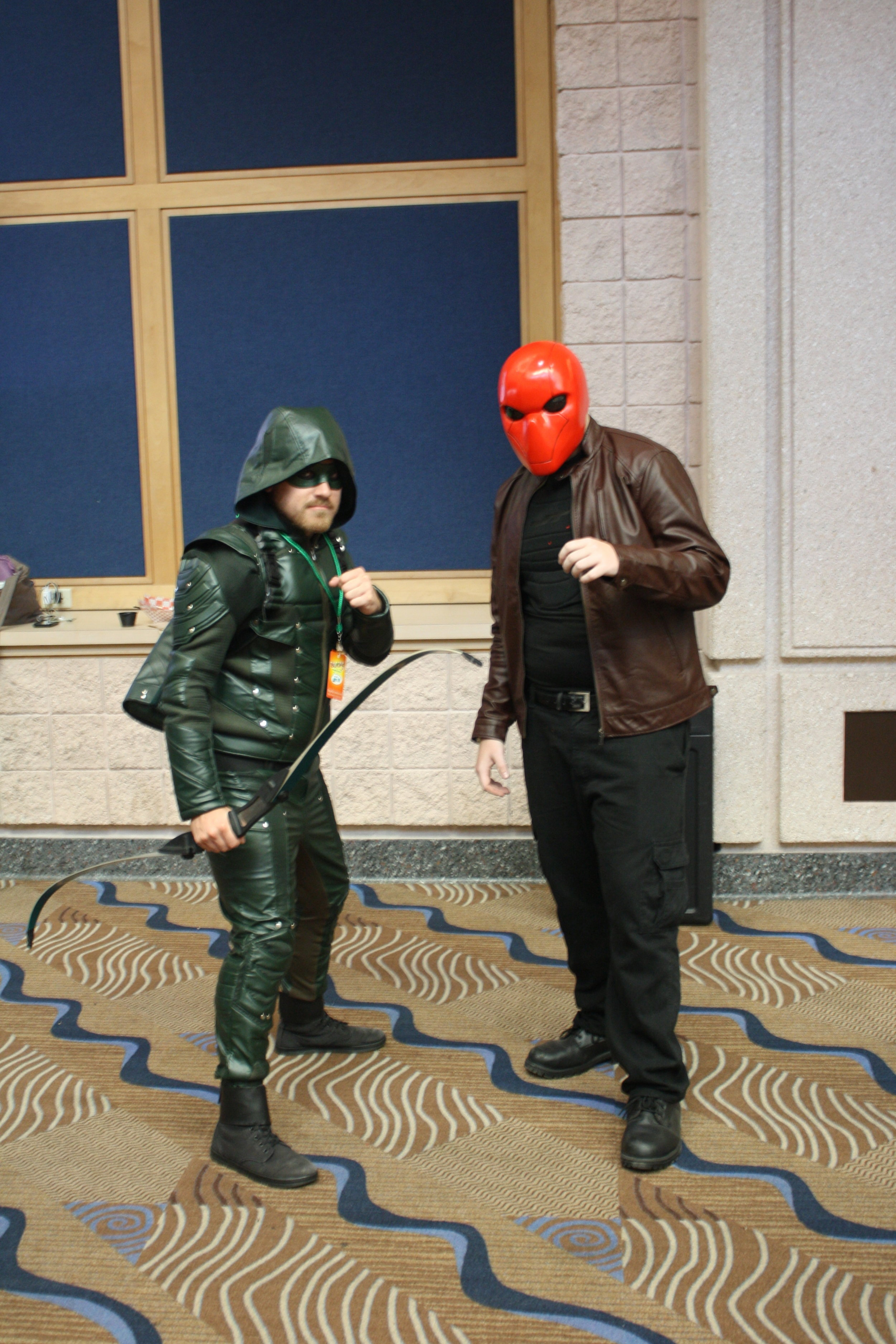 The Arrow and Redhood