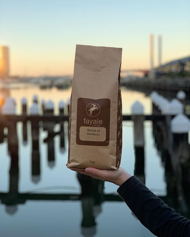 BARREL OF MONKEYS @fayalecoffee we love our coffee as much as our customers! . . . . . #coffee #coffeecart #coffeefoodtruck #advertising #sunset #corporateevents #melbourneevents #foodie #foodporn #victoria #love #melbourne #melbourneevents #melbournemarkets #foodtrucks #realestateagent #foodgasm #melbournecbd #federationsquare #yarrariver #melbournecoffee #melbournecity #smallbusiness #agency #corporate #foodlover #sold  #community #bestcoffeeinmelbourne #melbournecoffeecart