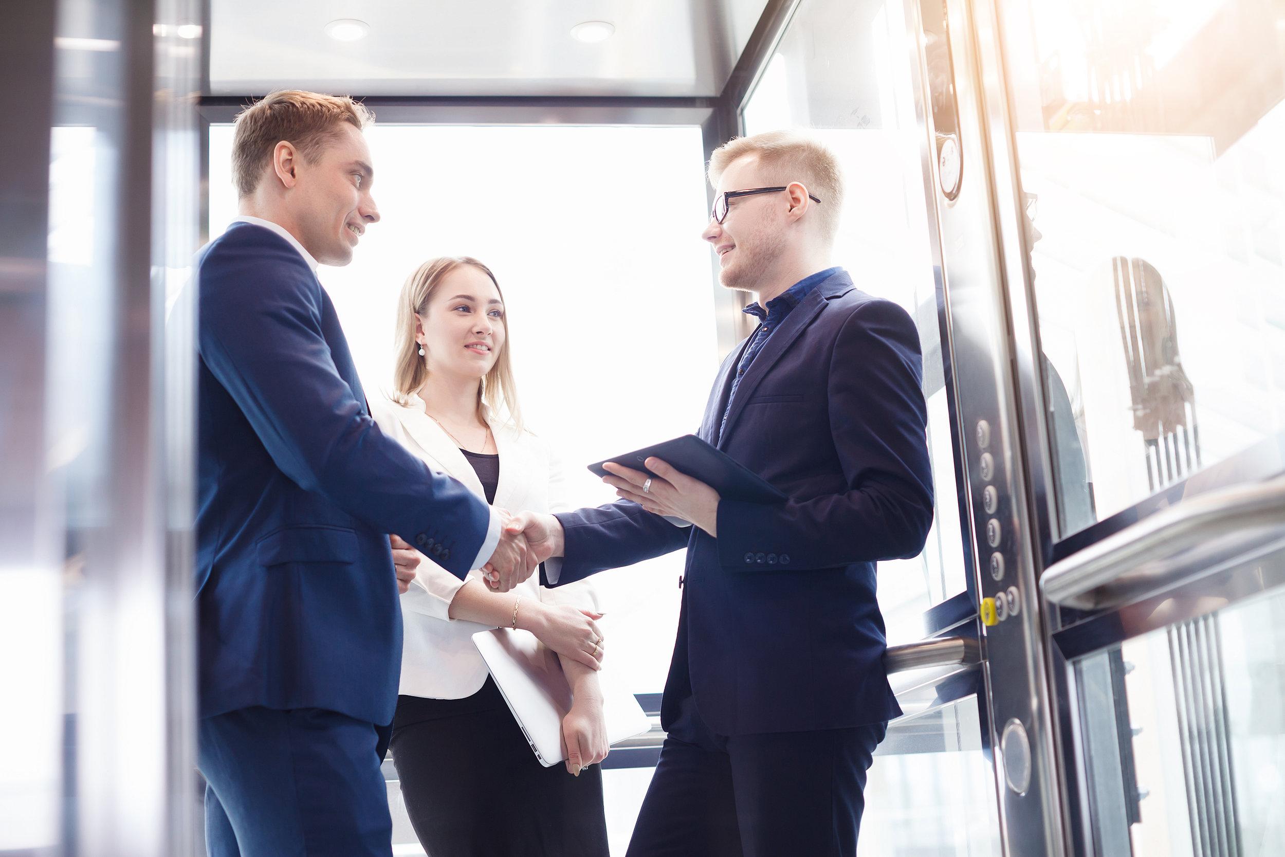 Elevator Pitch - Personal Branding - Majer Recruitment
