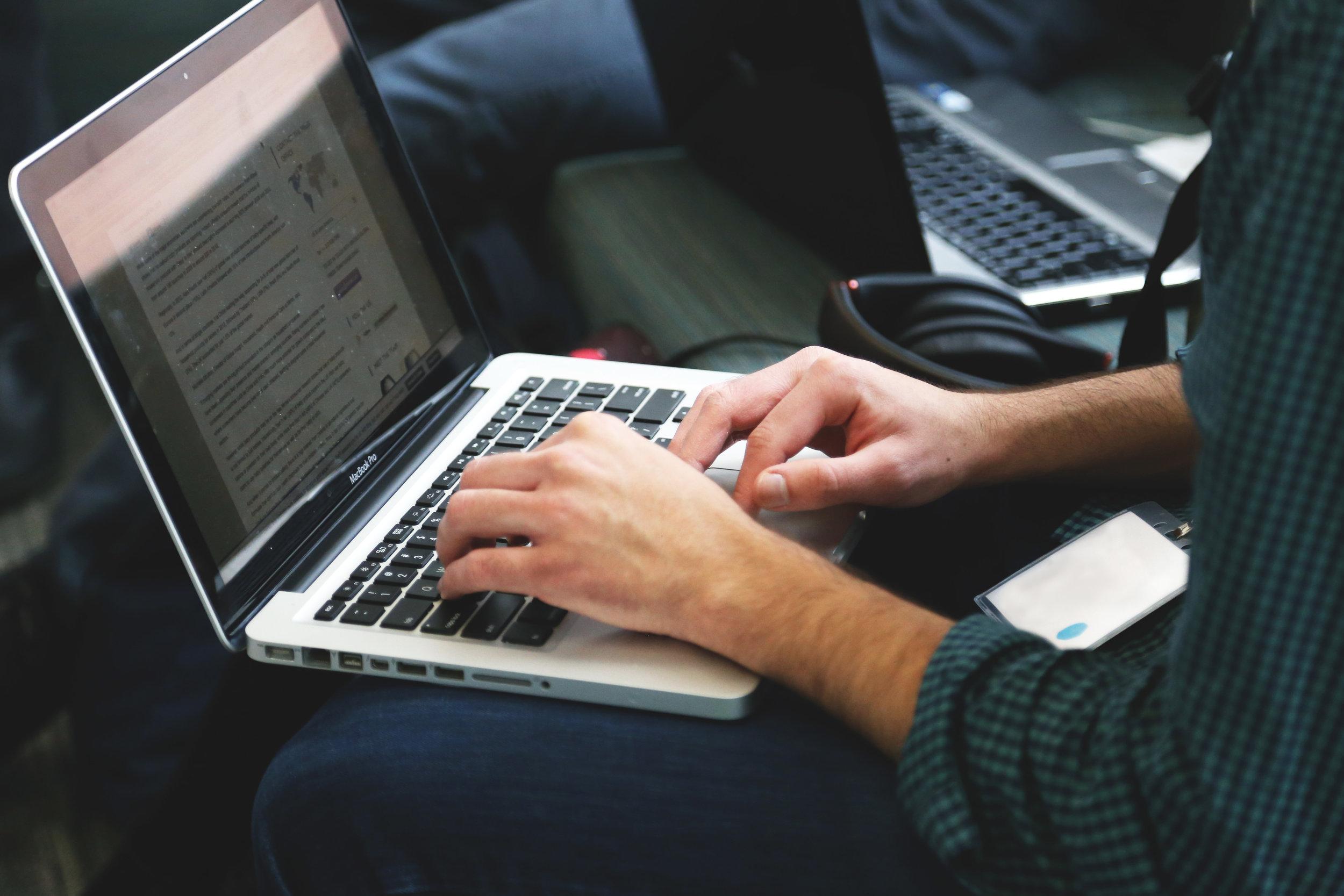 recruitment statistics laptop