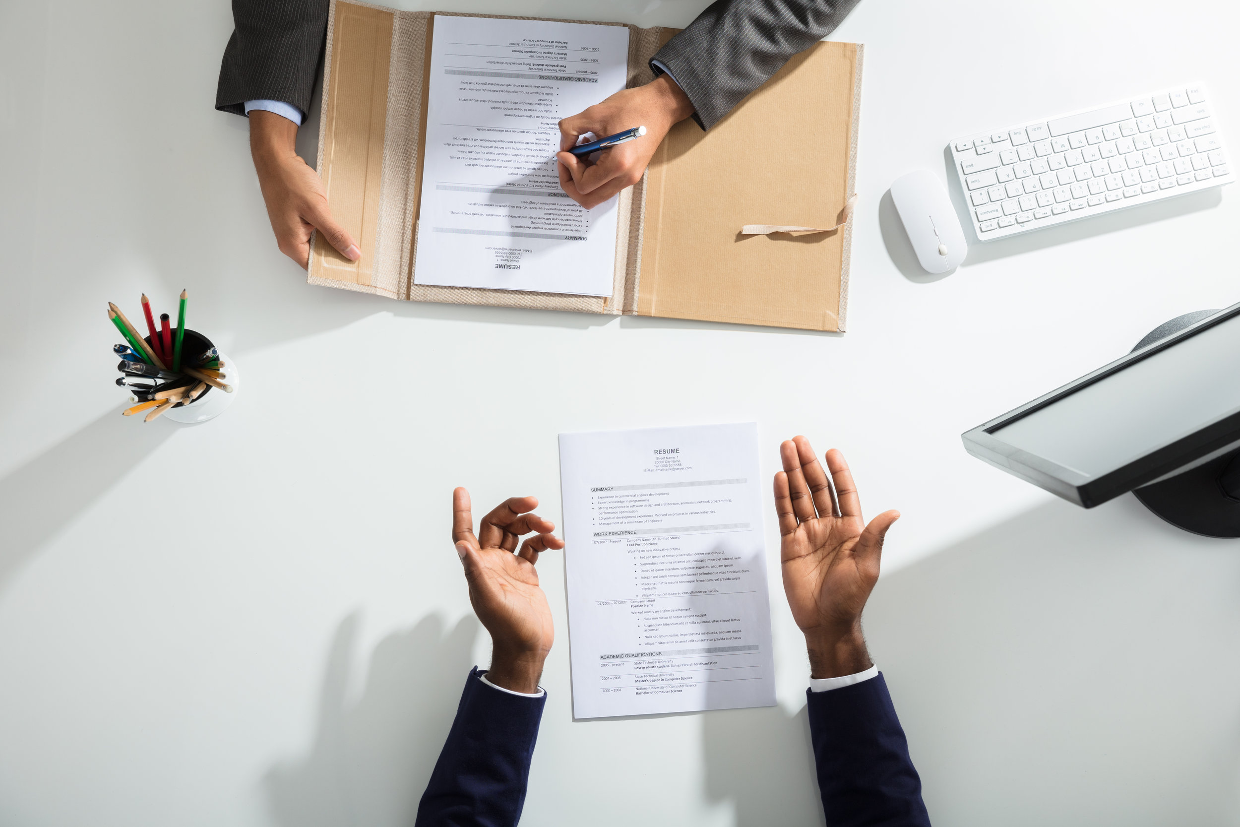 resume mistakes you probably did'nt know you were making