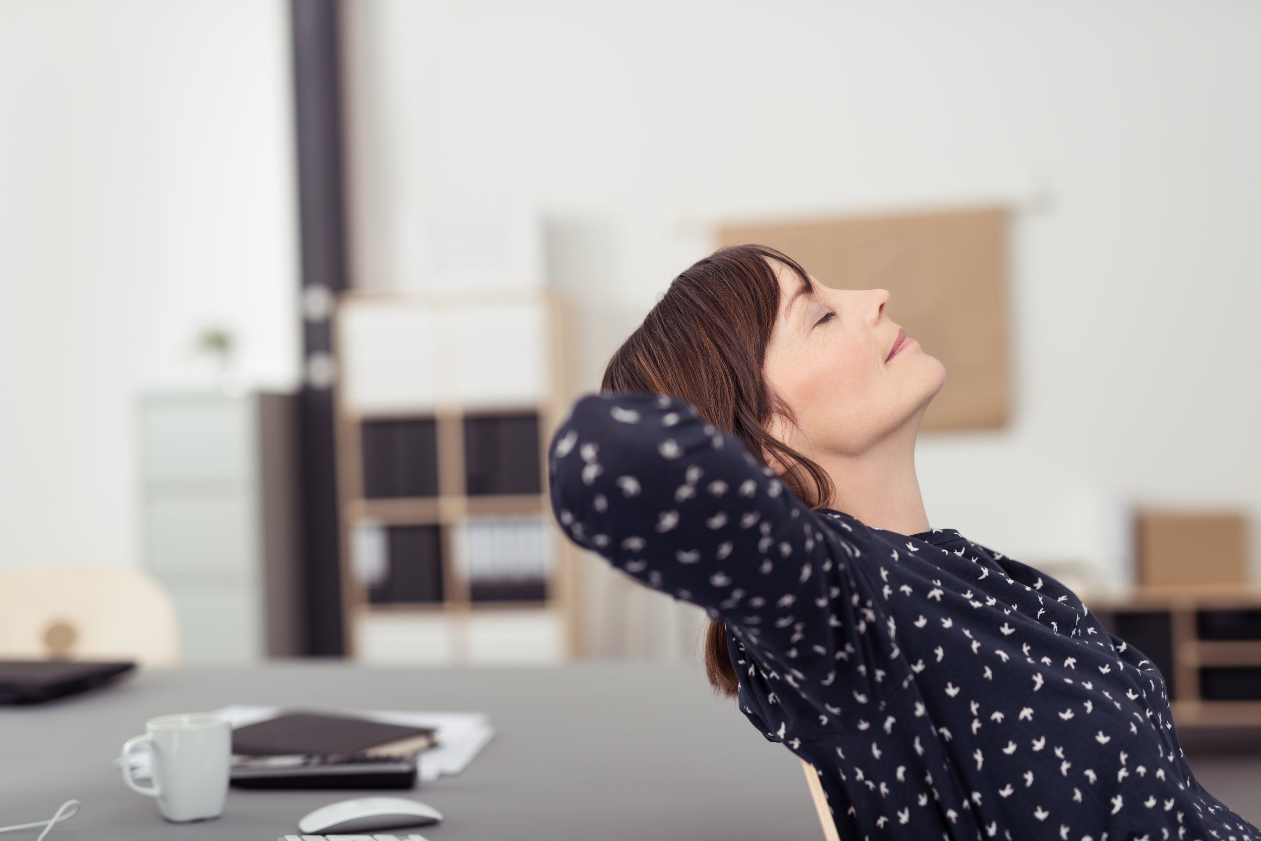 mindfulness in the workplace - relax