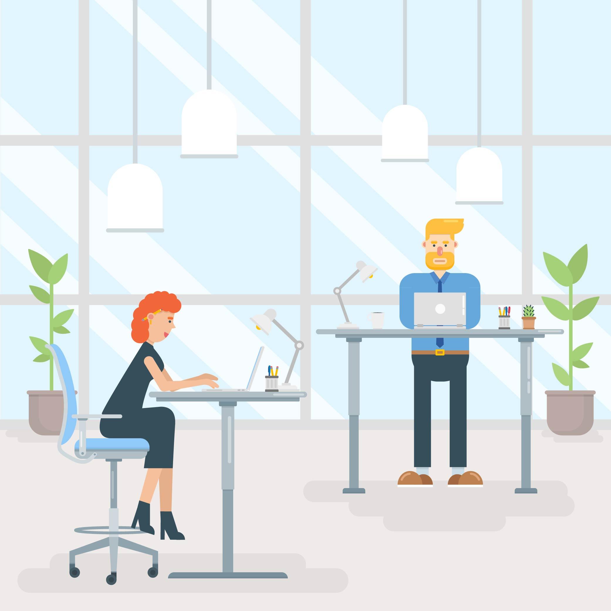 ergonomically optimise your workspace