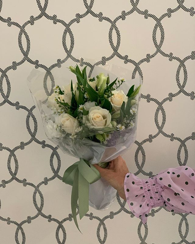 Happy happy birthday to our amazing Talent Manager Nia 🍾 We sure do hope she likes the flowers thanks to @phoebestephensflowers our trusty neighbours @jamesstbne