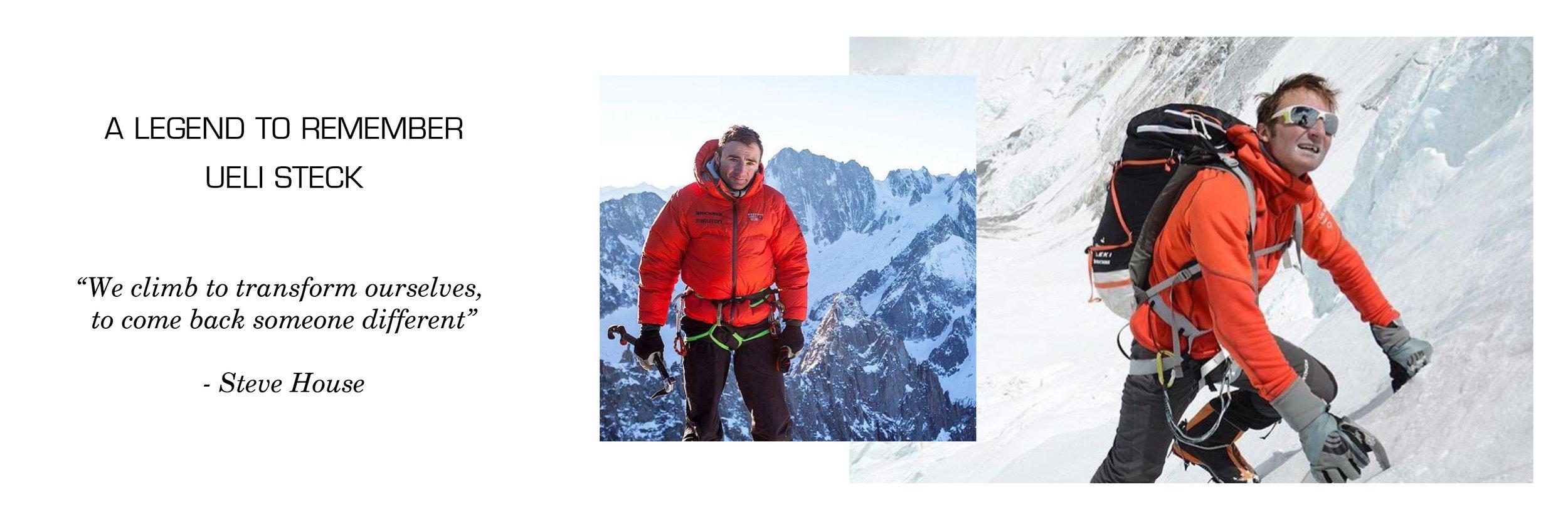 Ueli Steck Alpinist