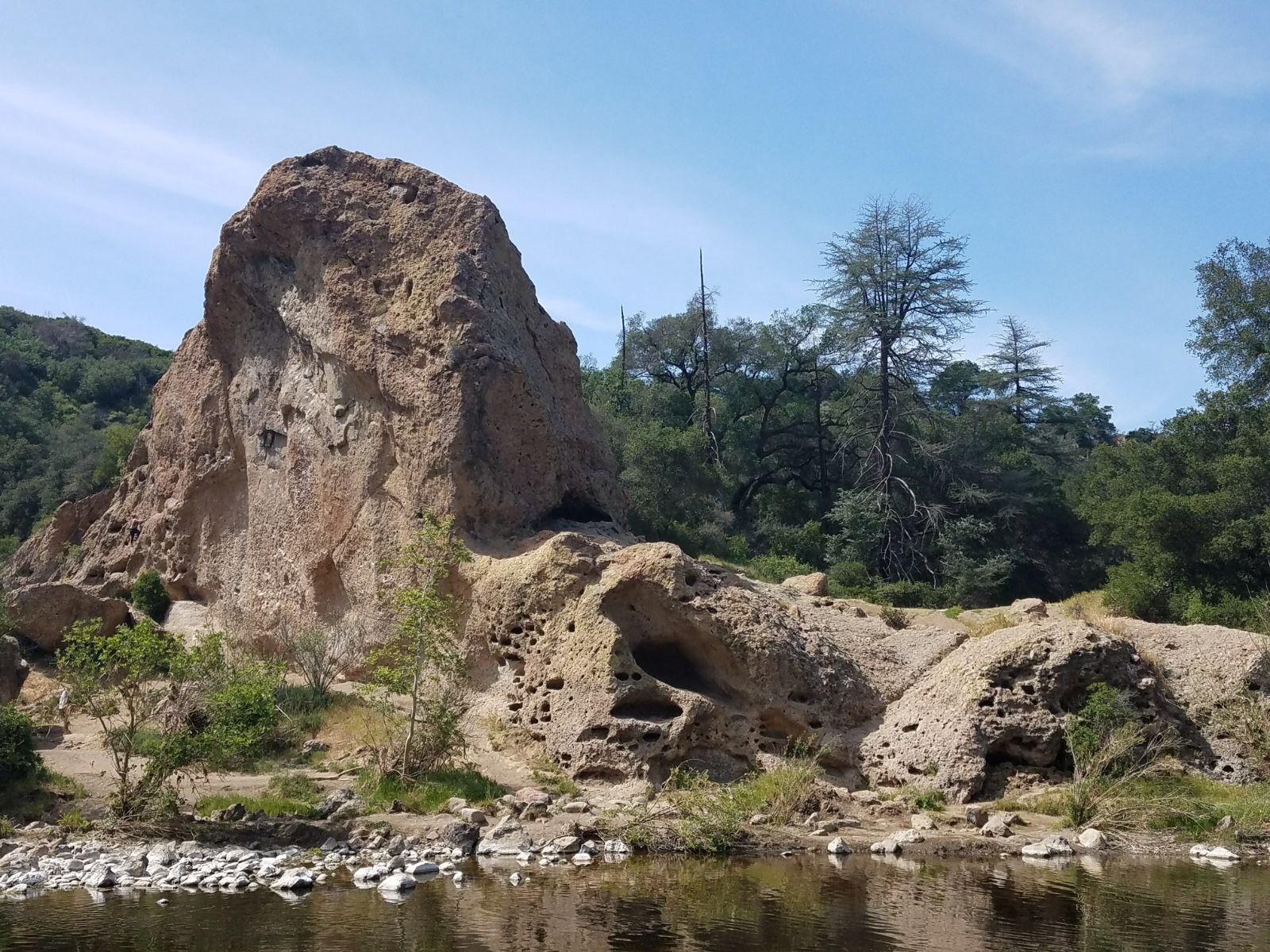 Malibu Creek Rock Climbing, Southern California