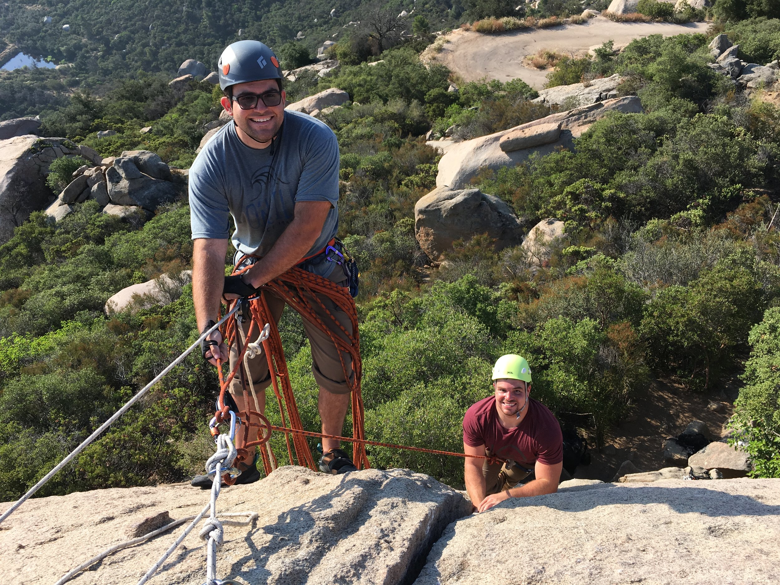 Mt. Woodson Private Guided Rock Climbing