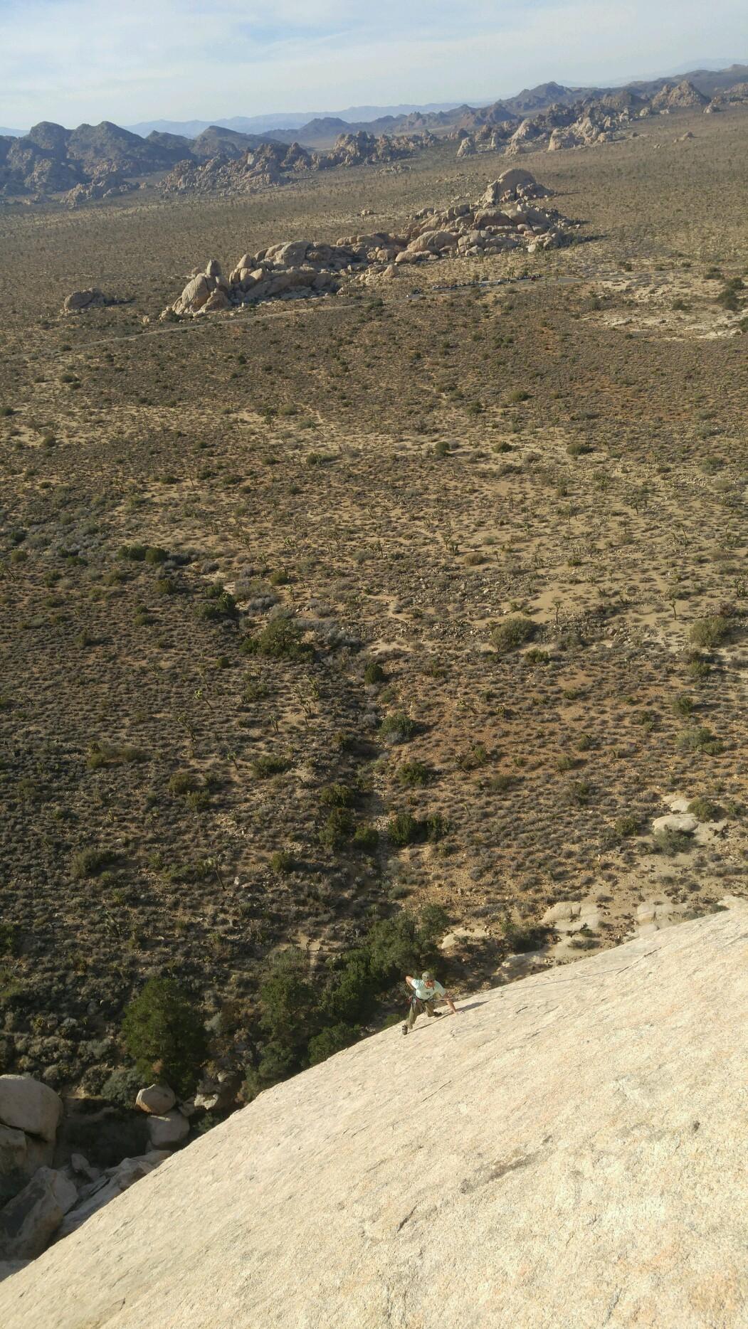 Joshua Tree Multi-Pitch Rock Climbing