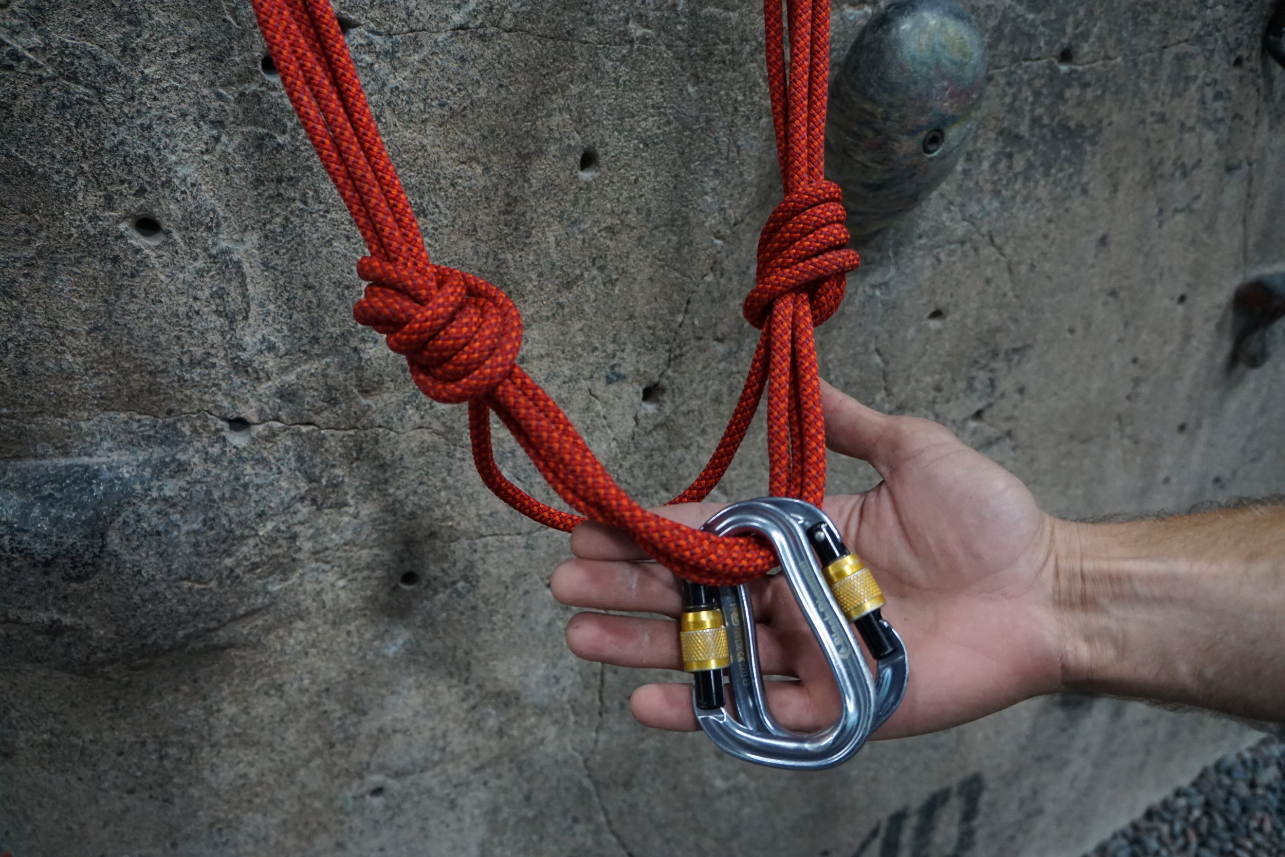 Indoor climbing clinics
