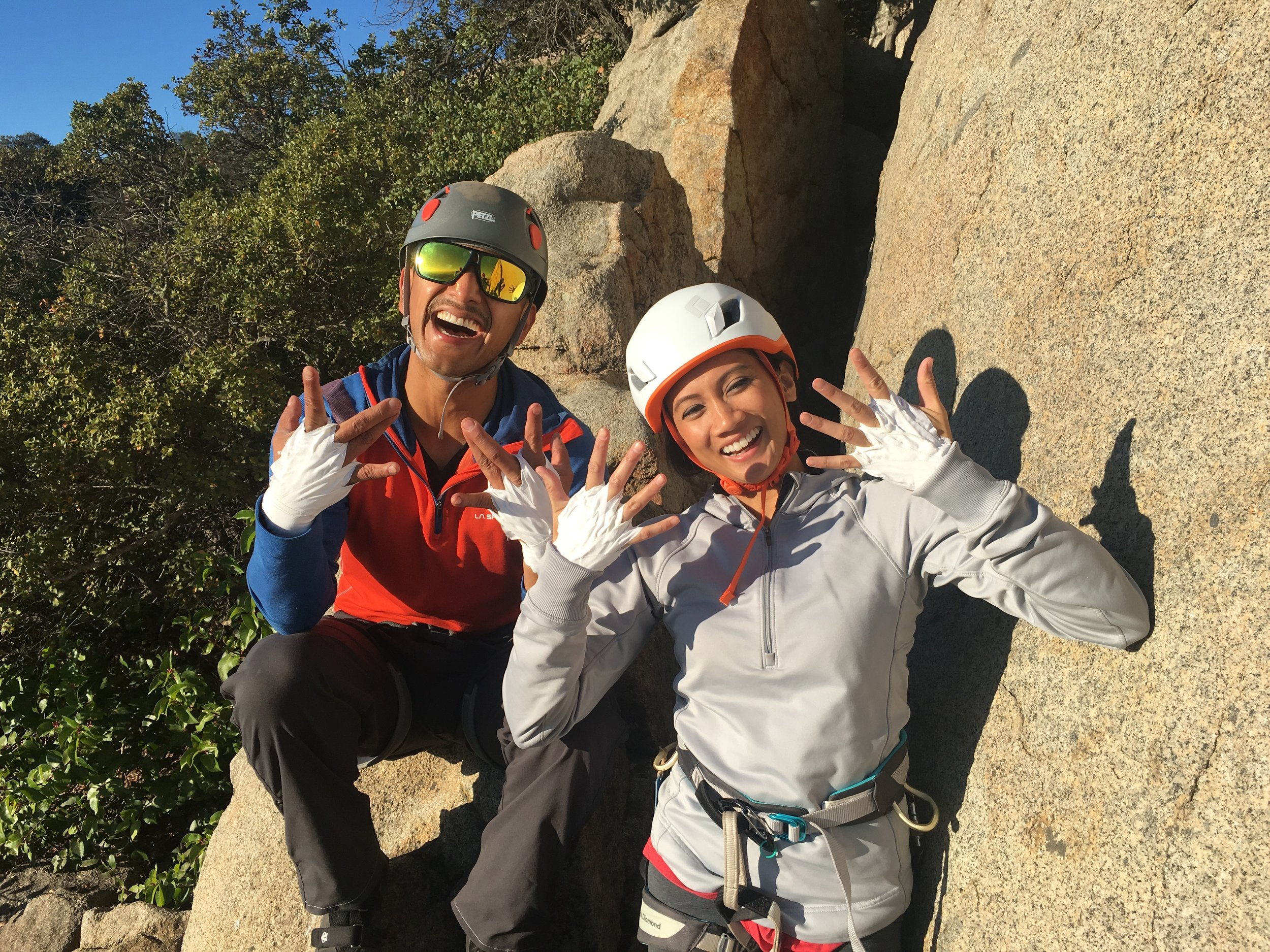 Mount Woodson Rock Climbing