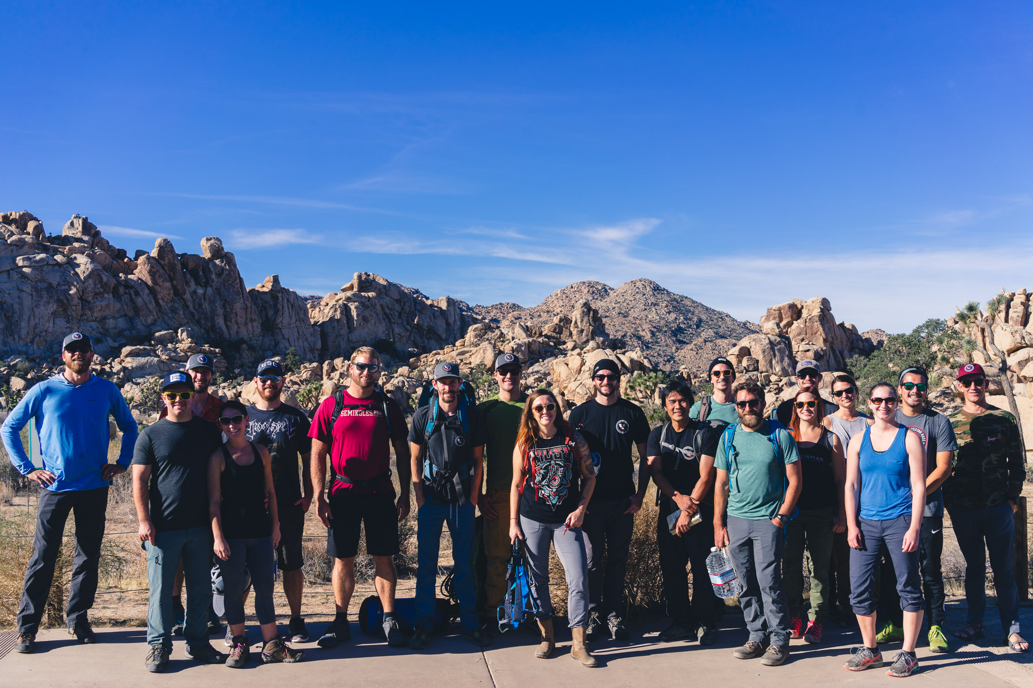 Joshua Tree Rock Climbing Southern California BBQ's x BELAY's x BEER's event