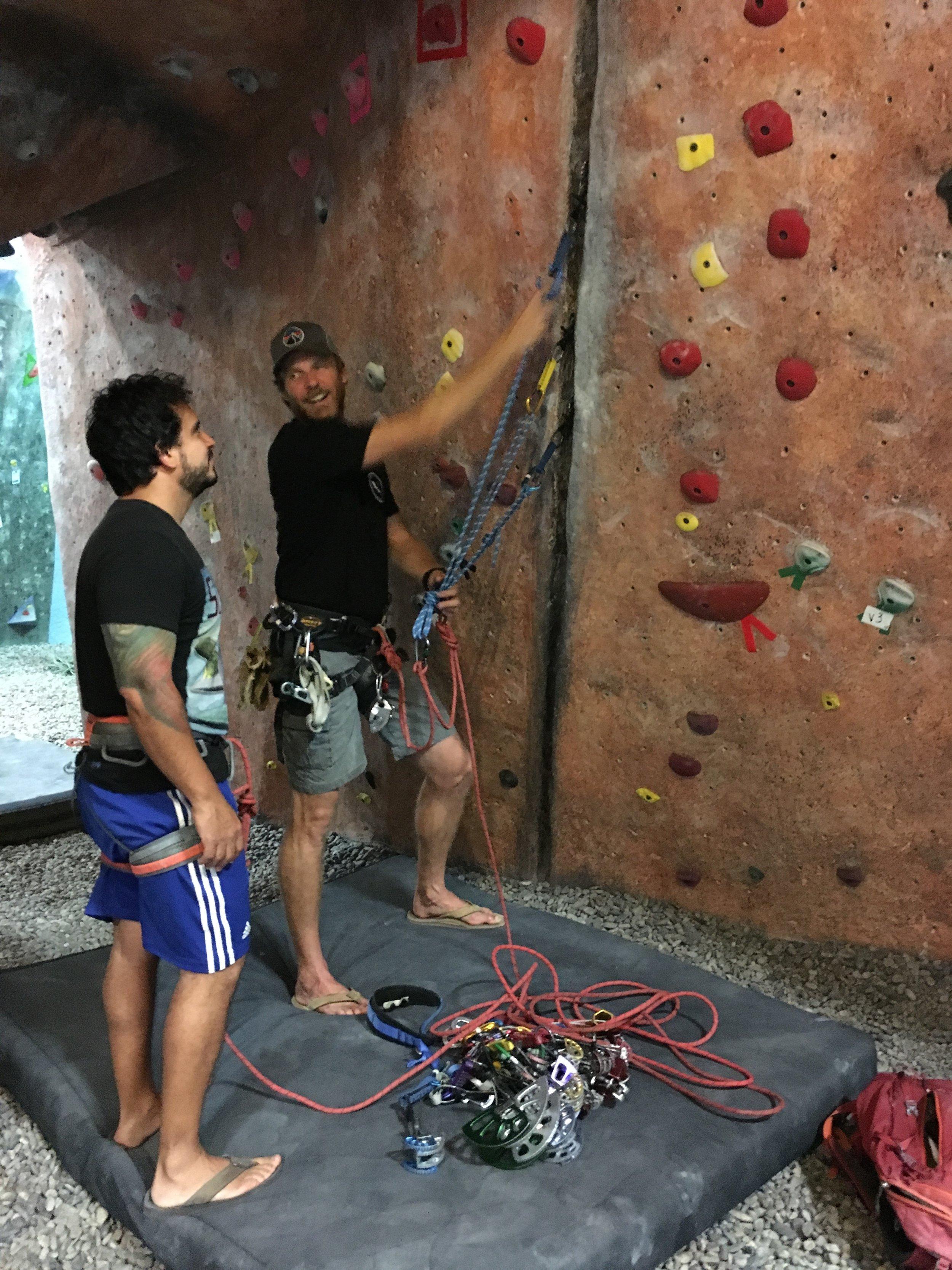 Indoor Climbing Rock Climbing Clinics Trad Climbing