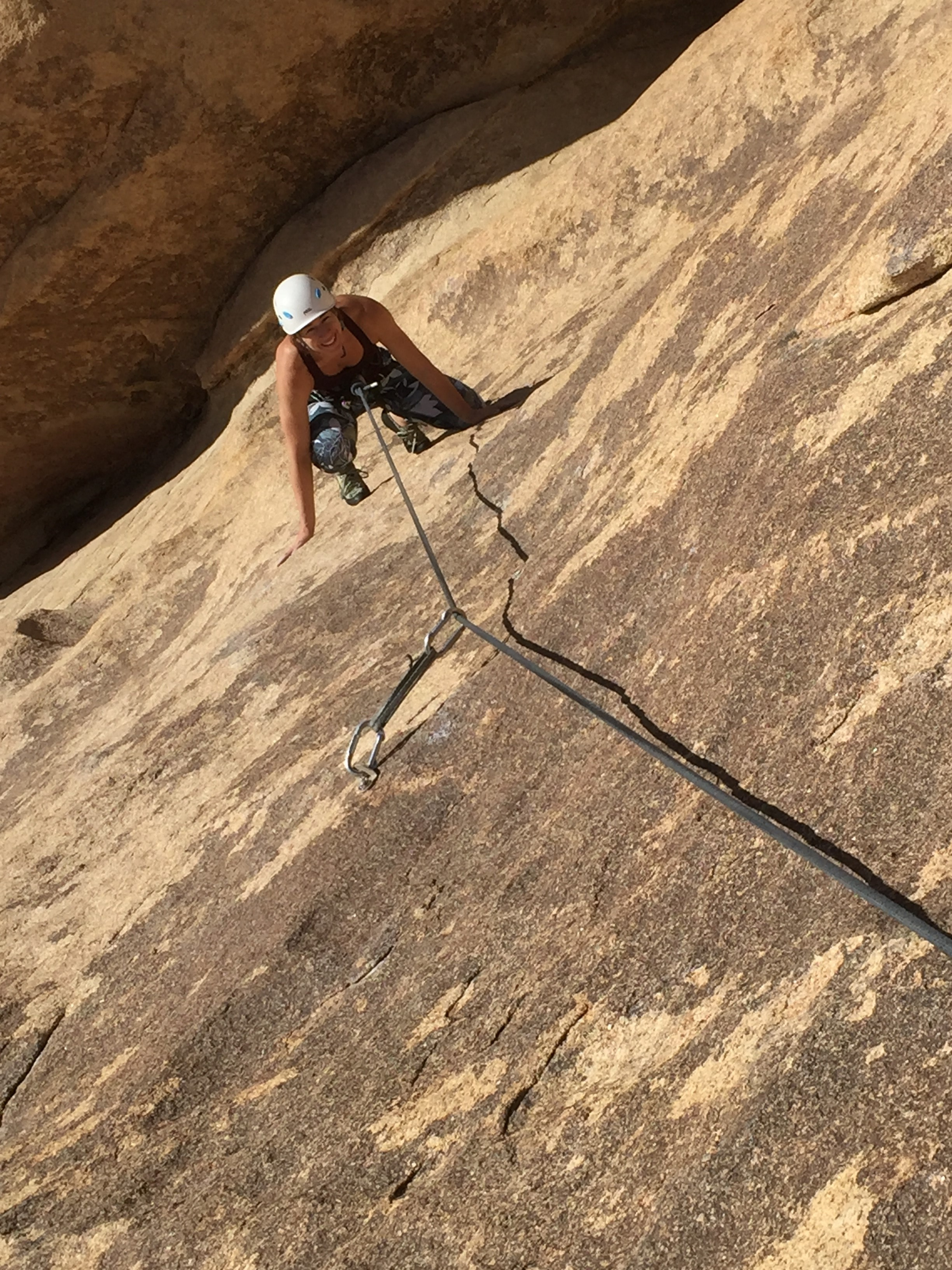 Guided Joshua Tree Rock Climbing Southern California