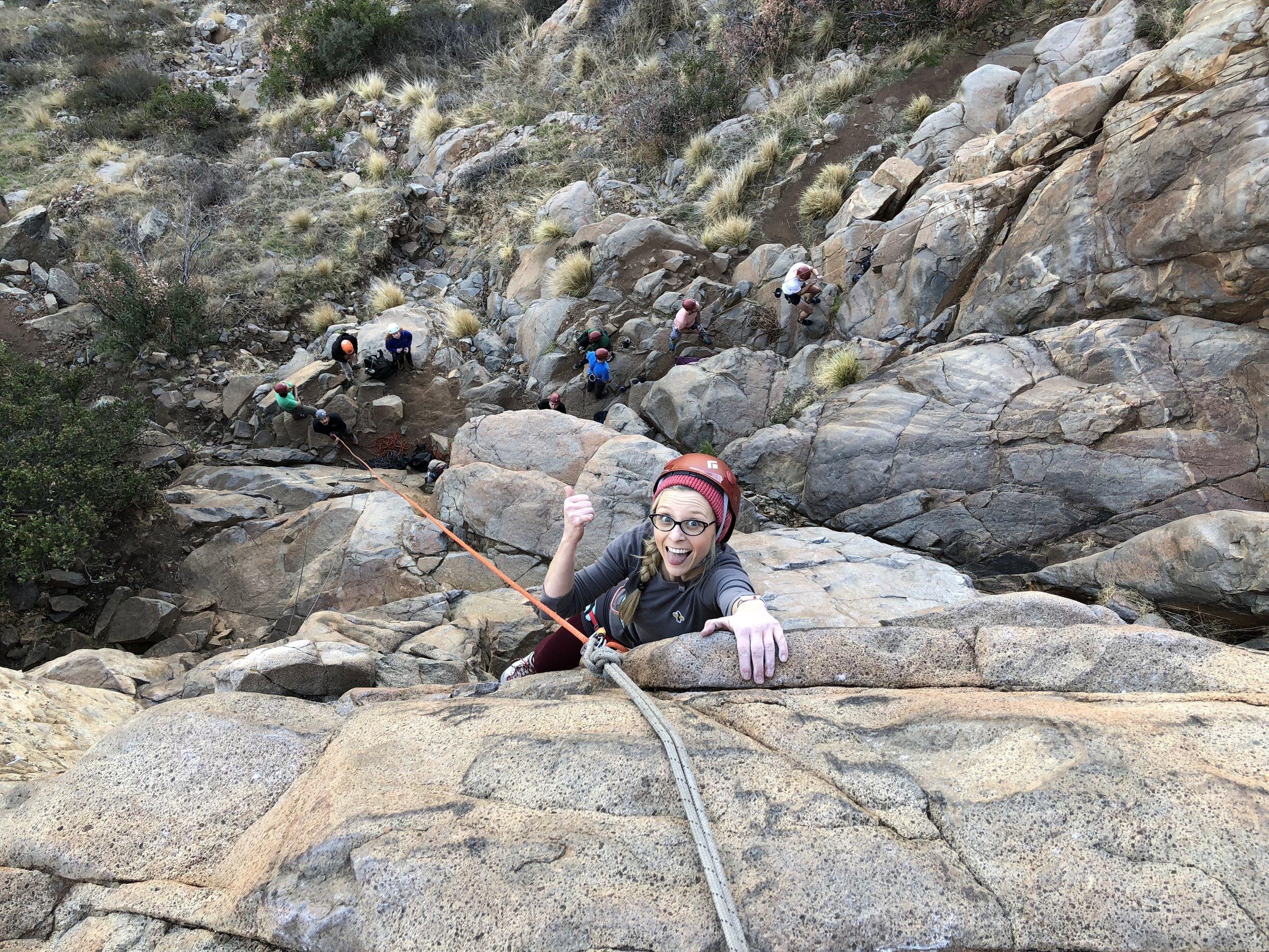Mission Gorge Rock Climbing