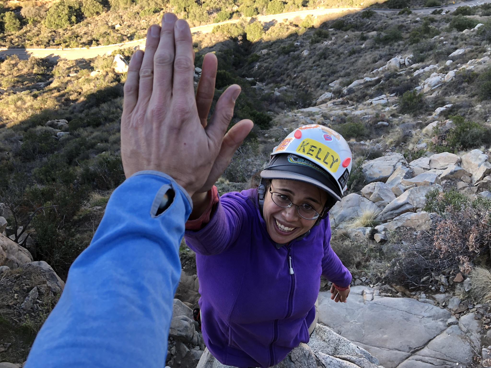 Rock Climbing Mission Gorge San Diego