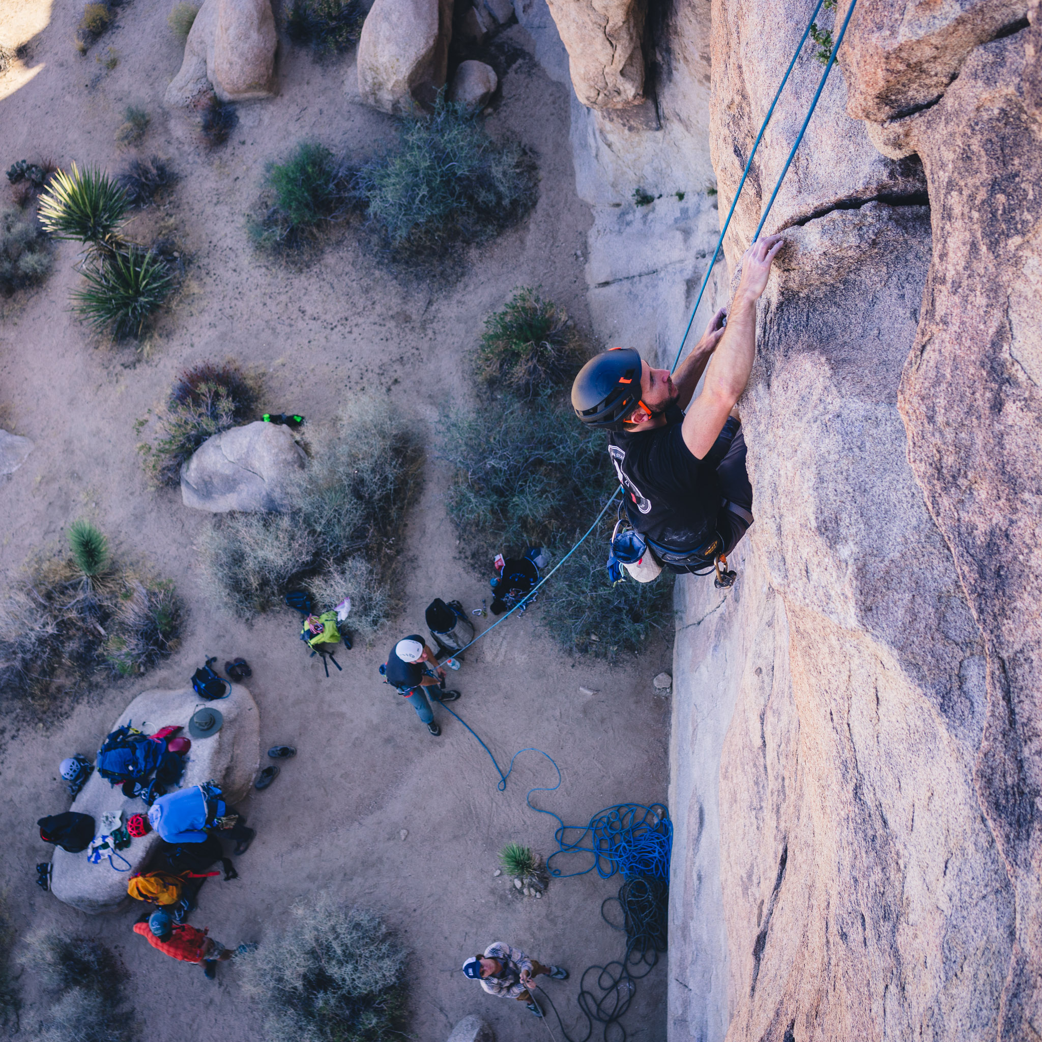 Joshua Tree Rock Climbing Southern California