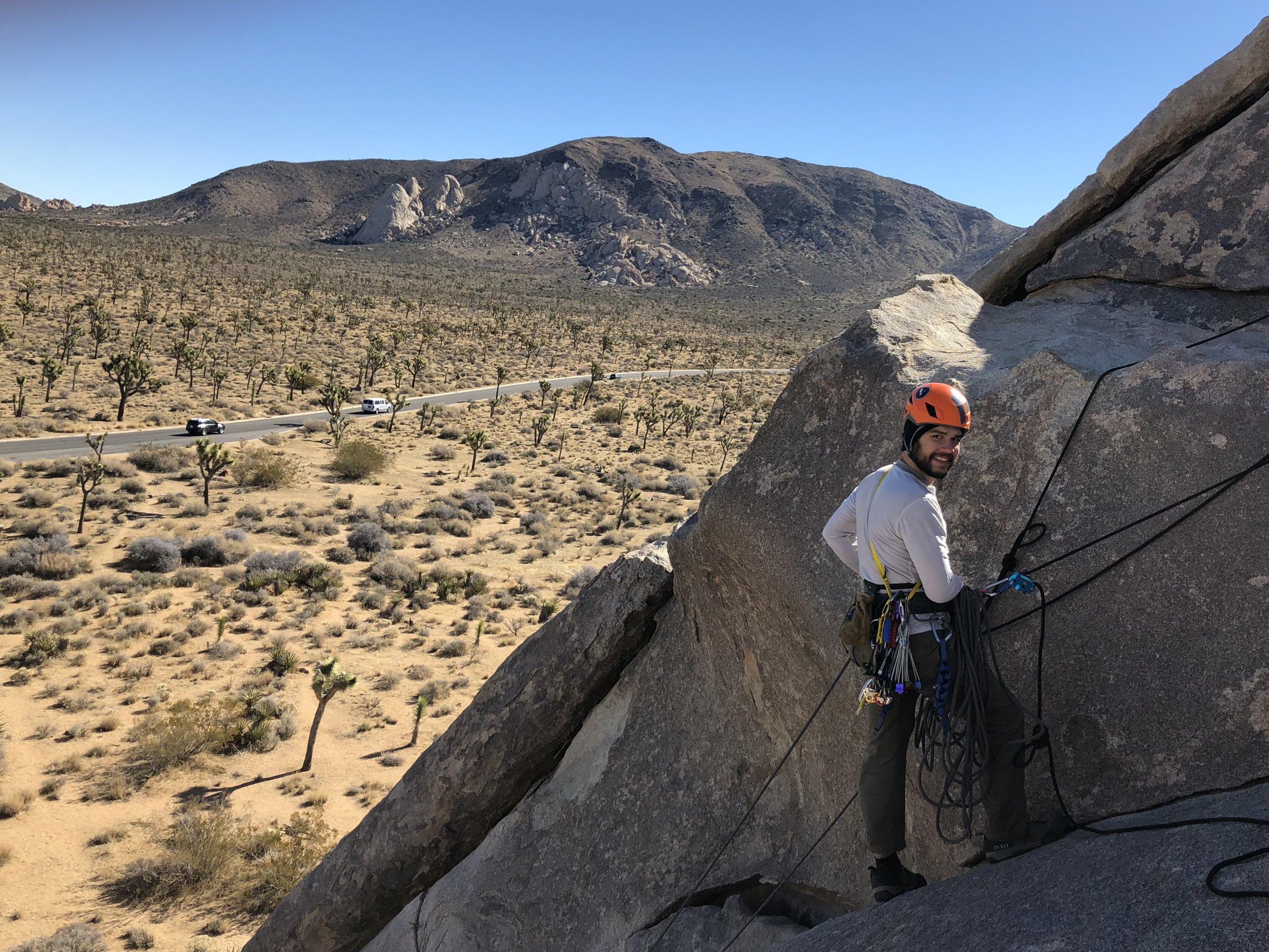 Joshua Tree Advanced Climbing Anchors