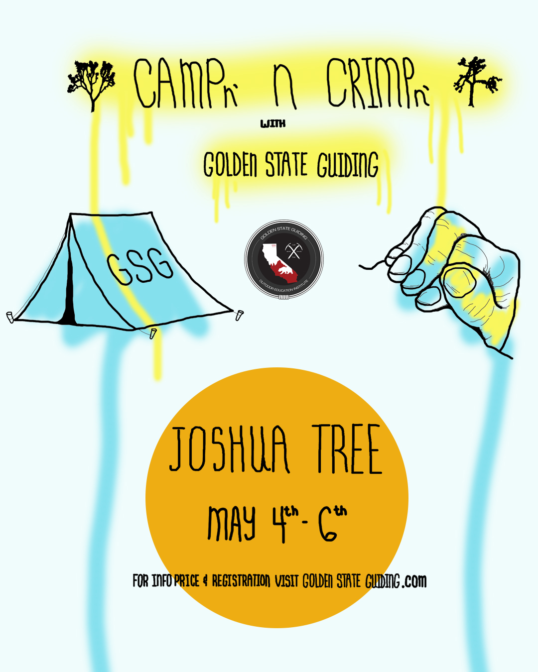 Campn' n Crimpn' Joshua Tree