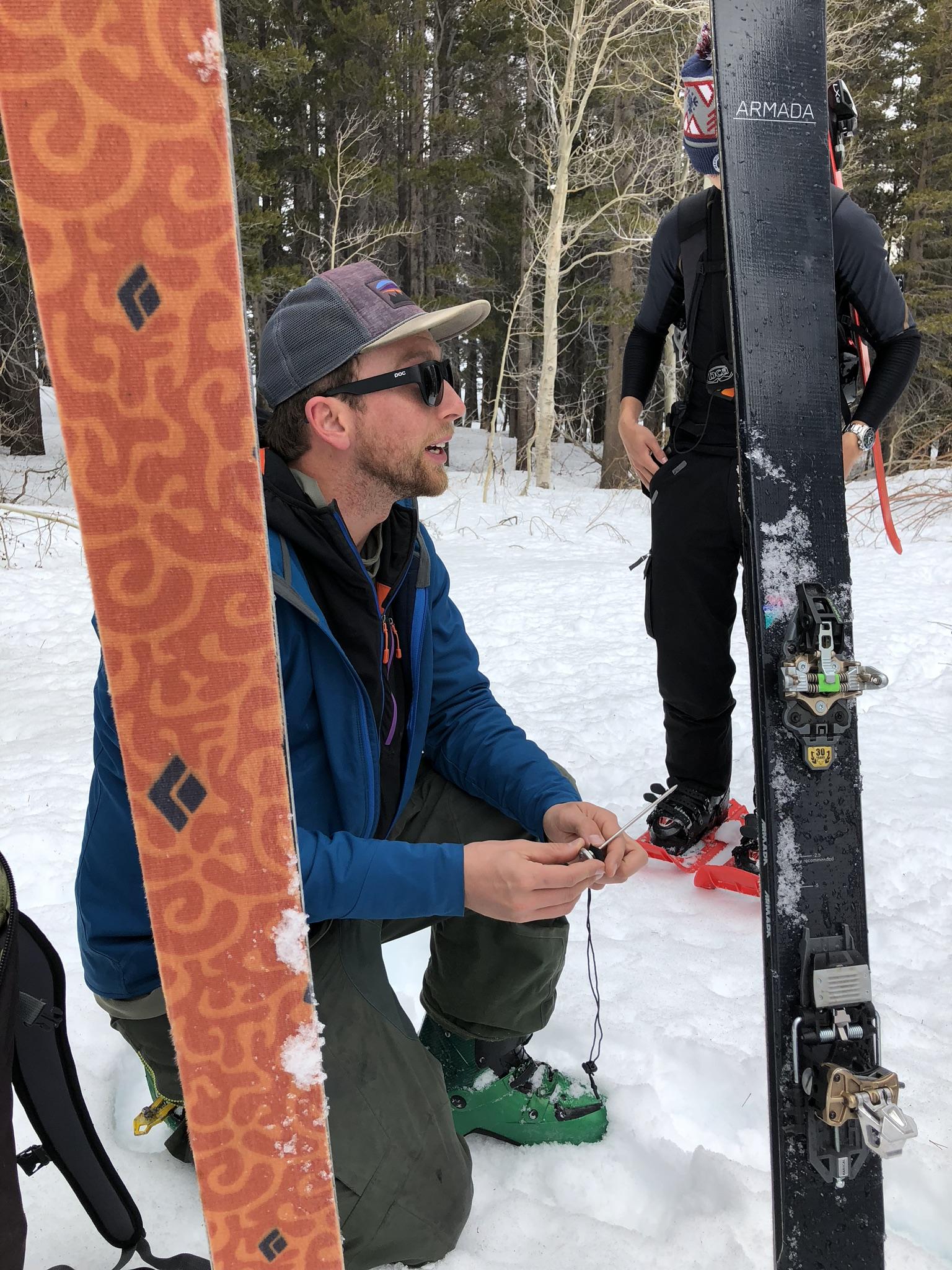 Jan Czyzewski Avalanche Course Eastern Sierra Mammoth Lakes