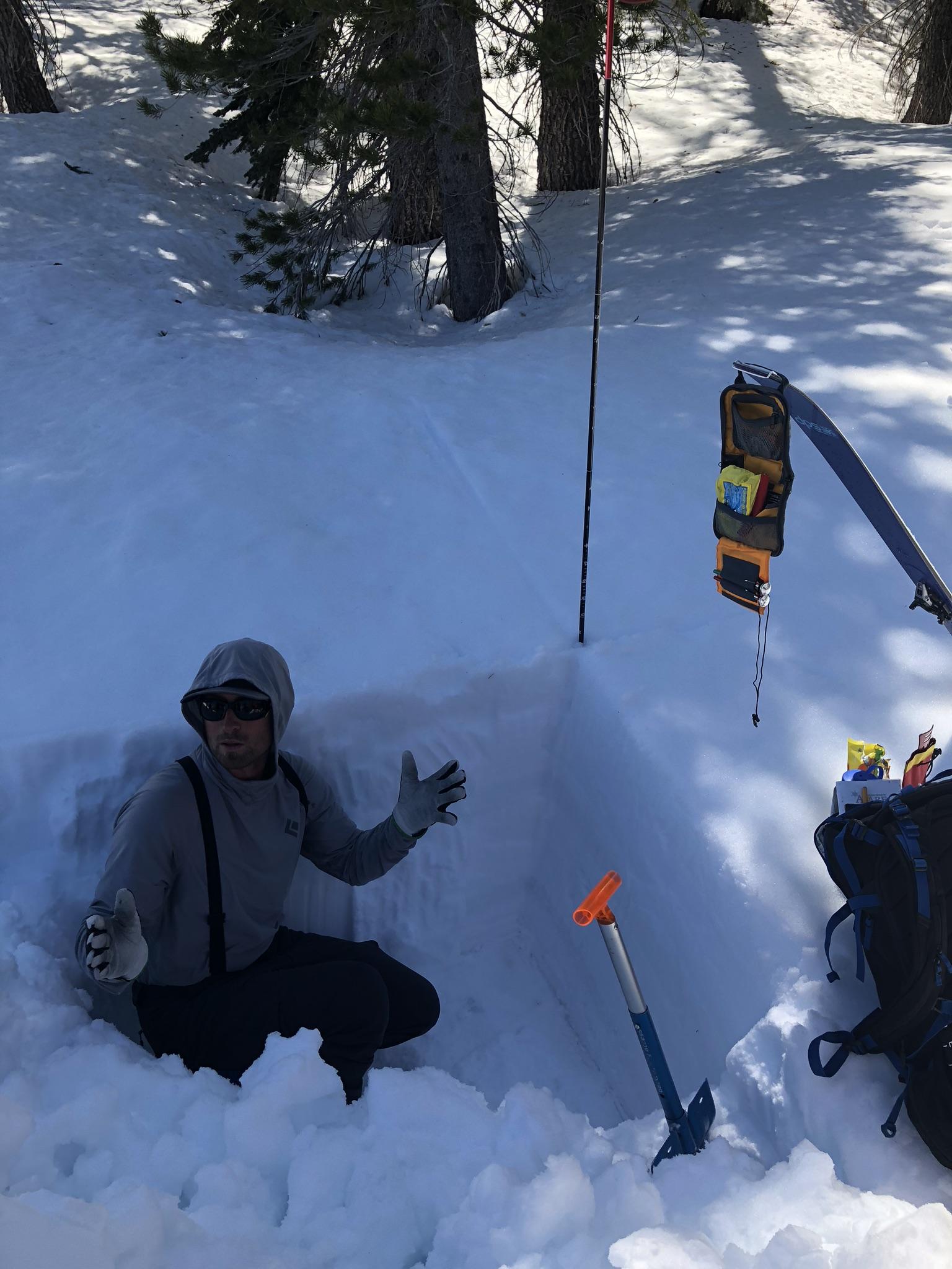 Ryan Huetter Avalanche Course Eastern Sierra Mammoth Lakes
