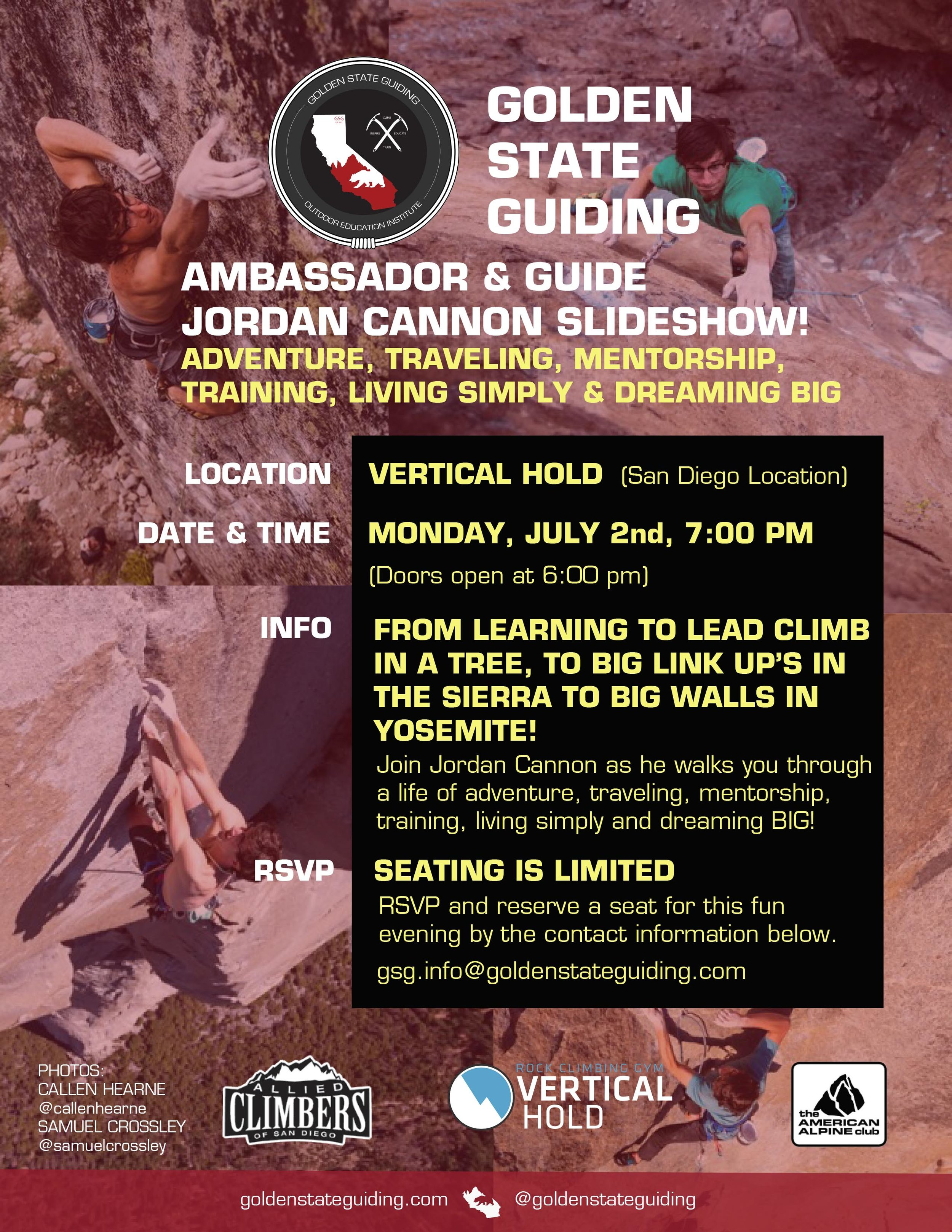 Golden State Guiding Ambassador Jordan Cannon Slideshow