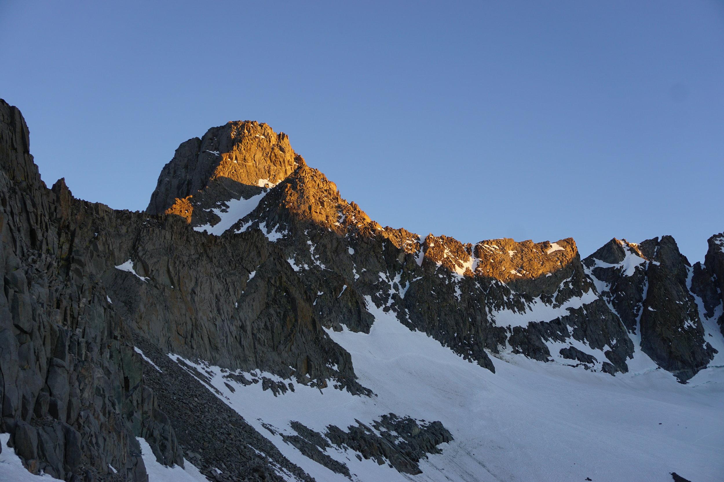 Mount Sill Eastern Sierra Rock Climbing Palisade Range