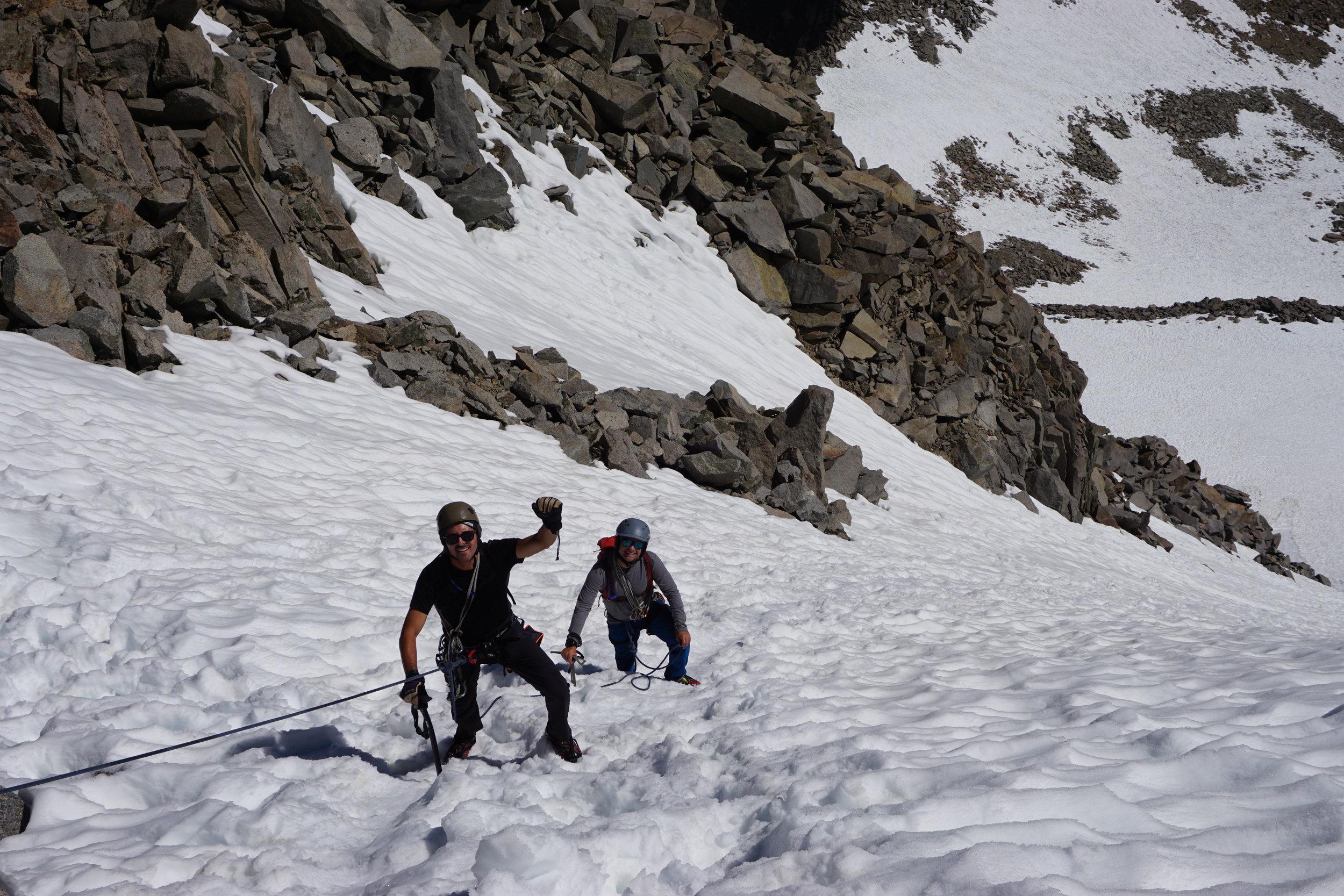 North Couloir L-Shape Couloir Mount Sill High Sierra Mountaineering