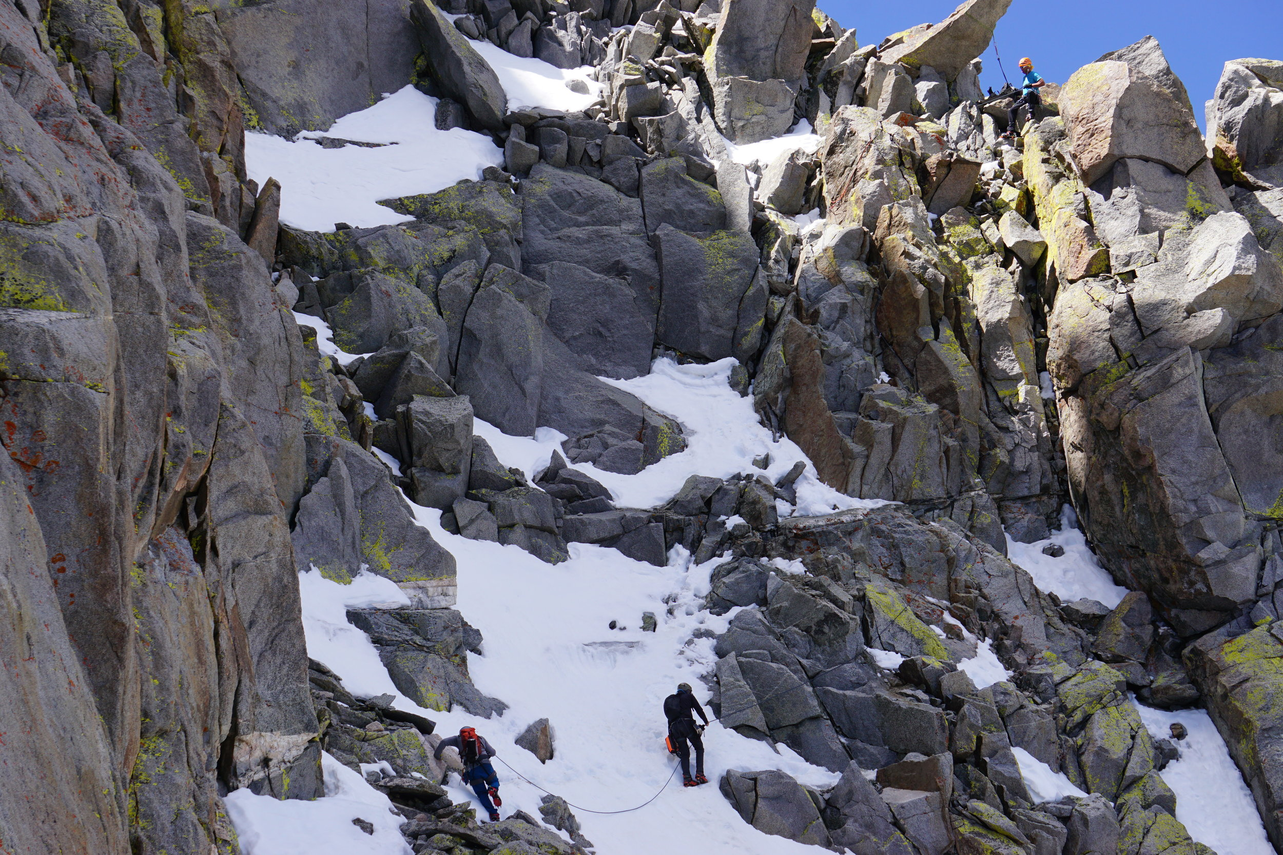 Mount Sill Mountaineering High Sierra Nevada
