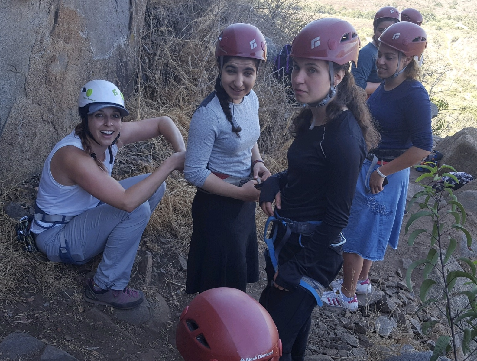 Girls Leadership Rock Climbing Program Mission Gorge