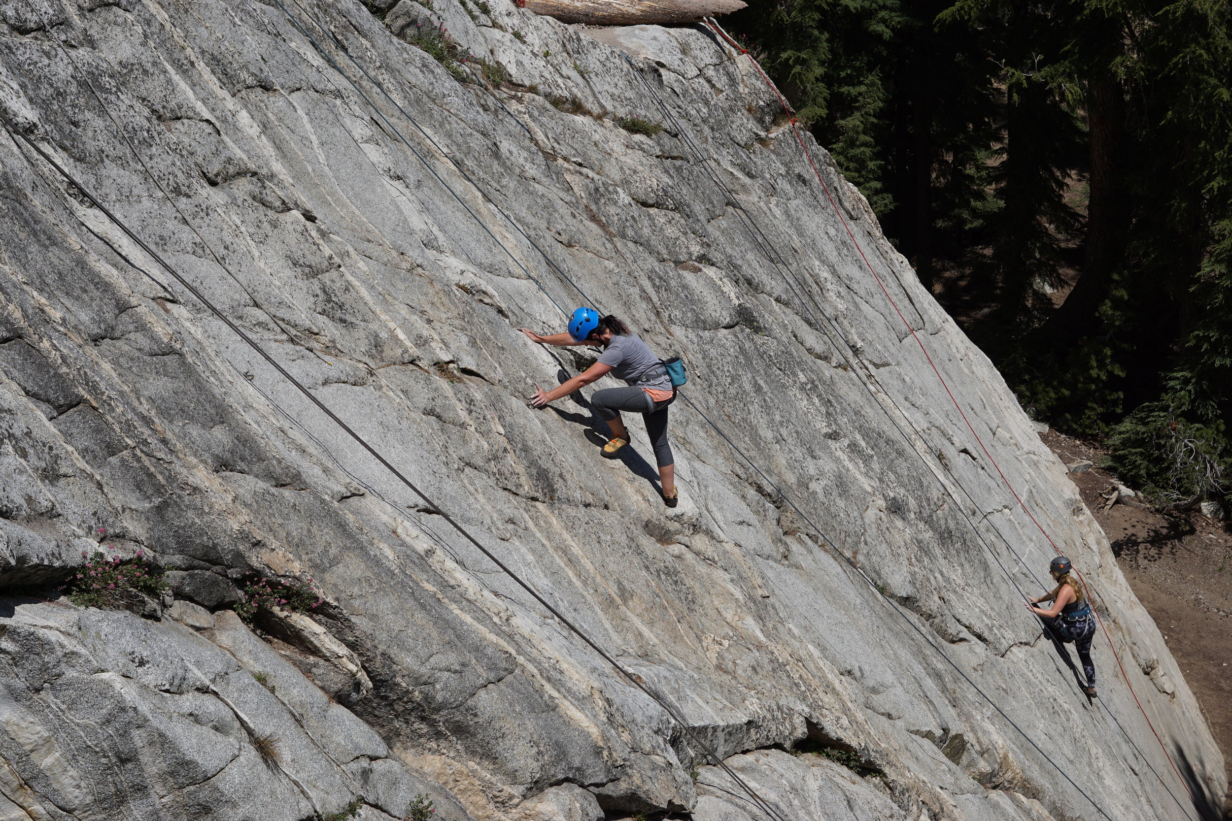 Mammoth Lakes Basin Rock Climbing Horseshoe Slabs