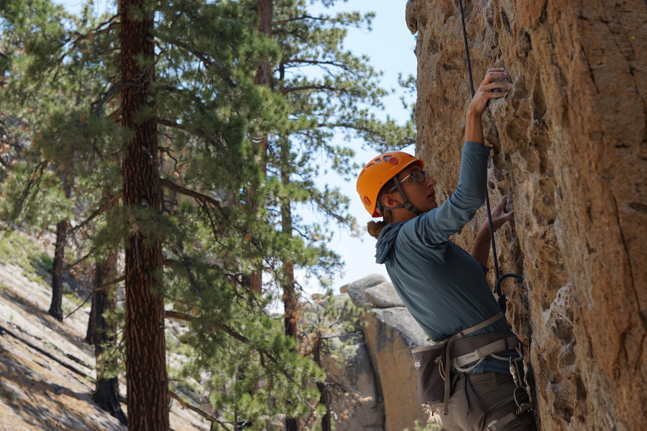 Clark Canyon Rock Climbing Mammoth Lakes Area Sierra Nevada