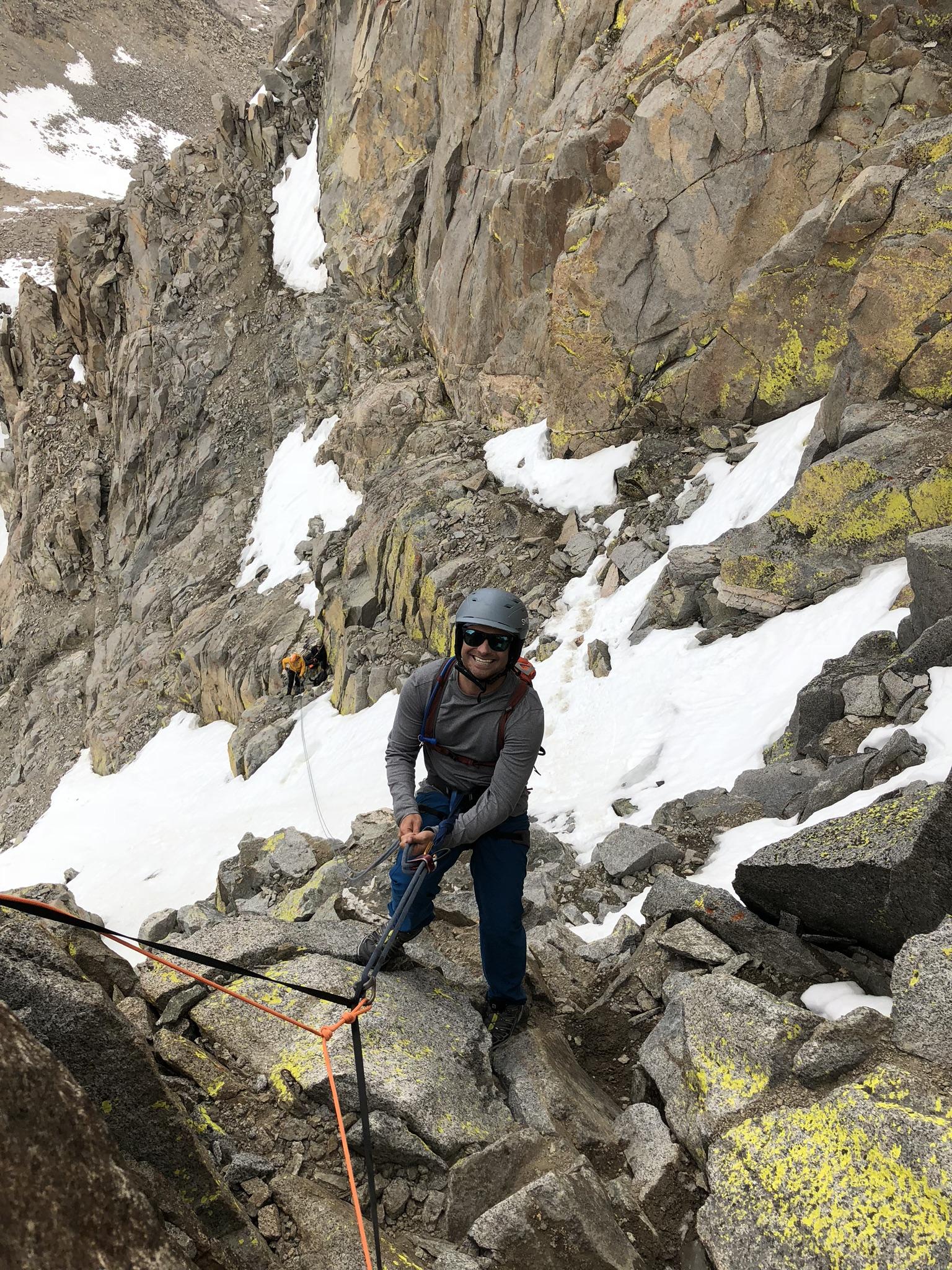 Mount Sill Eastern Sierra Alpine Rock Climbing