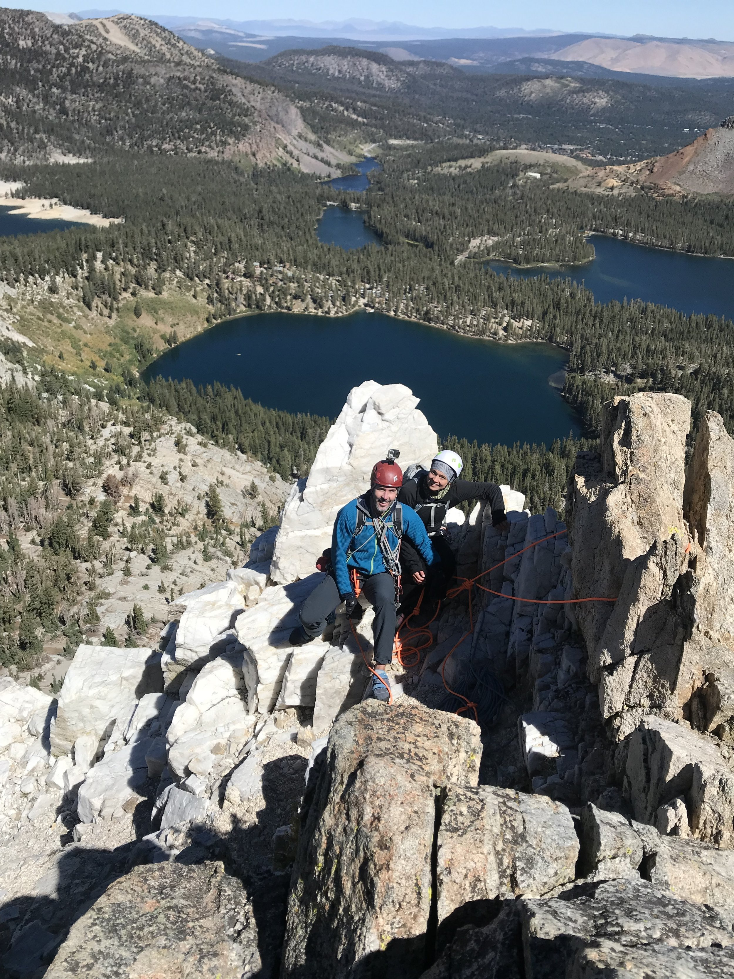 Crystal Crag Rock Climbing Mammoth Lakes Eastern Sierra