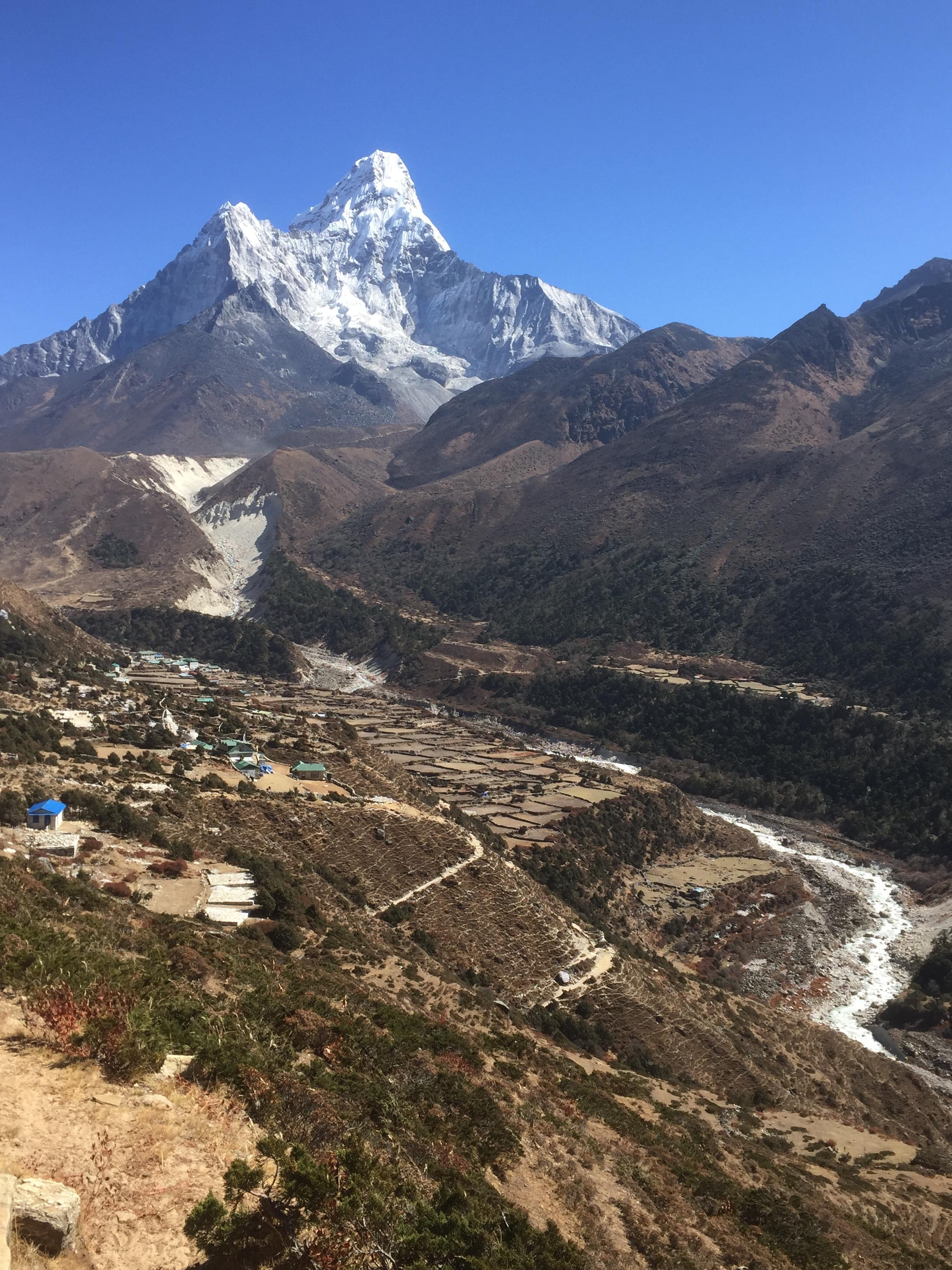 Ama Dablam Pangboche Nepal