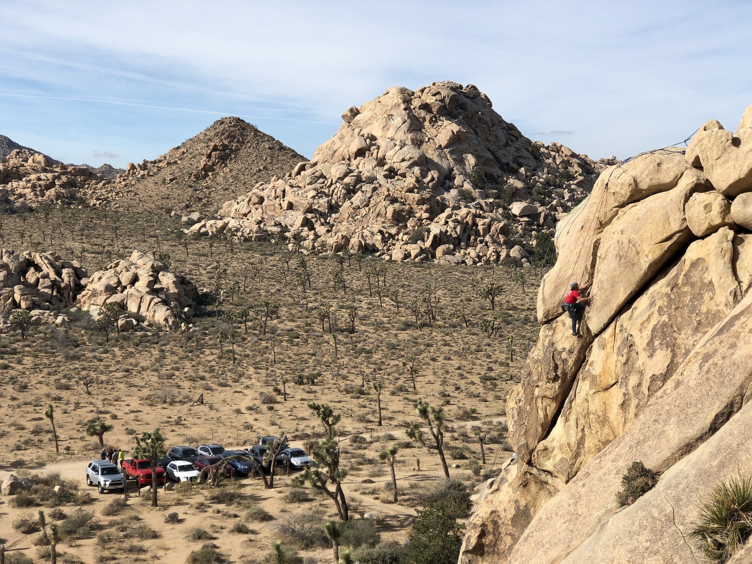BBQ's x BELAY's x BEER's Joshua Tree National Park Rock Climbing