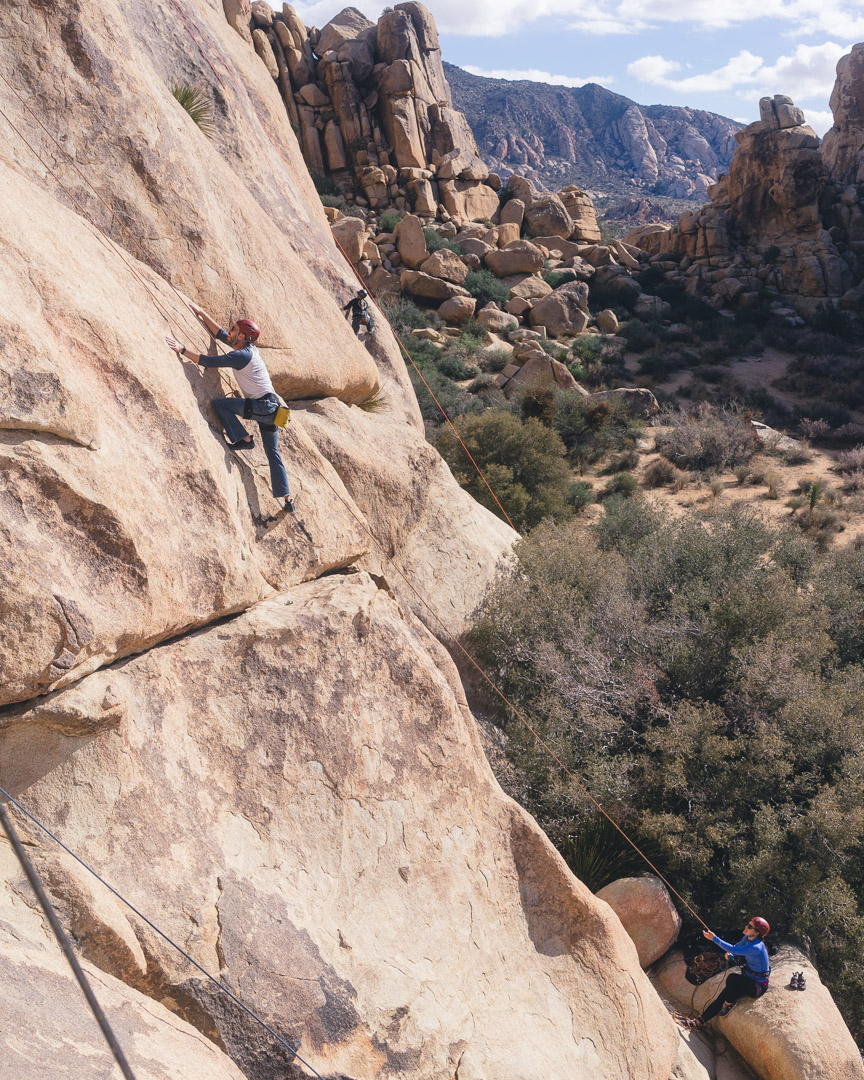 Joshua Tree Rock Climbing Echo Cove