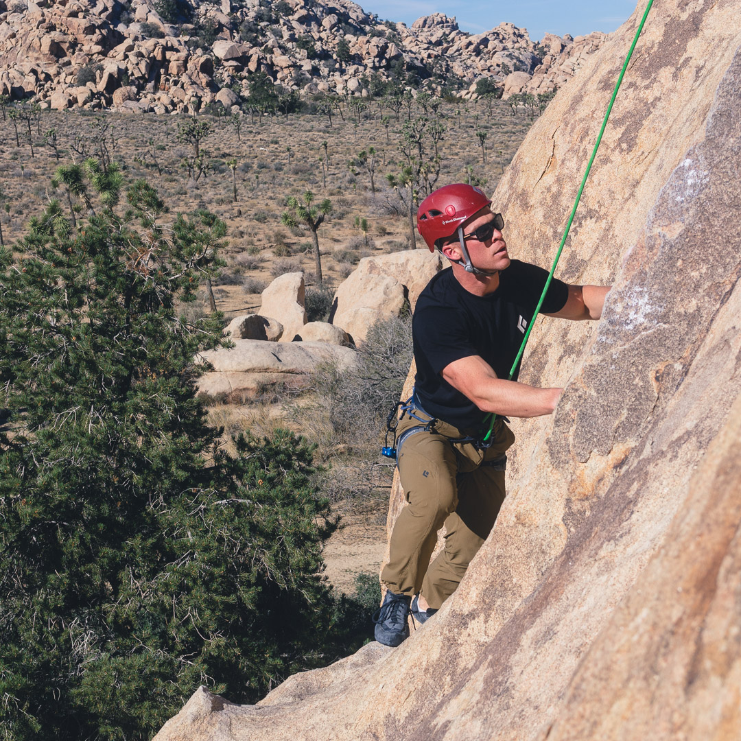 Echo Cove Rock Climbing Joshua Tree