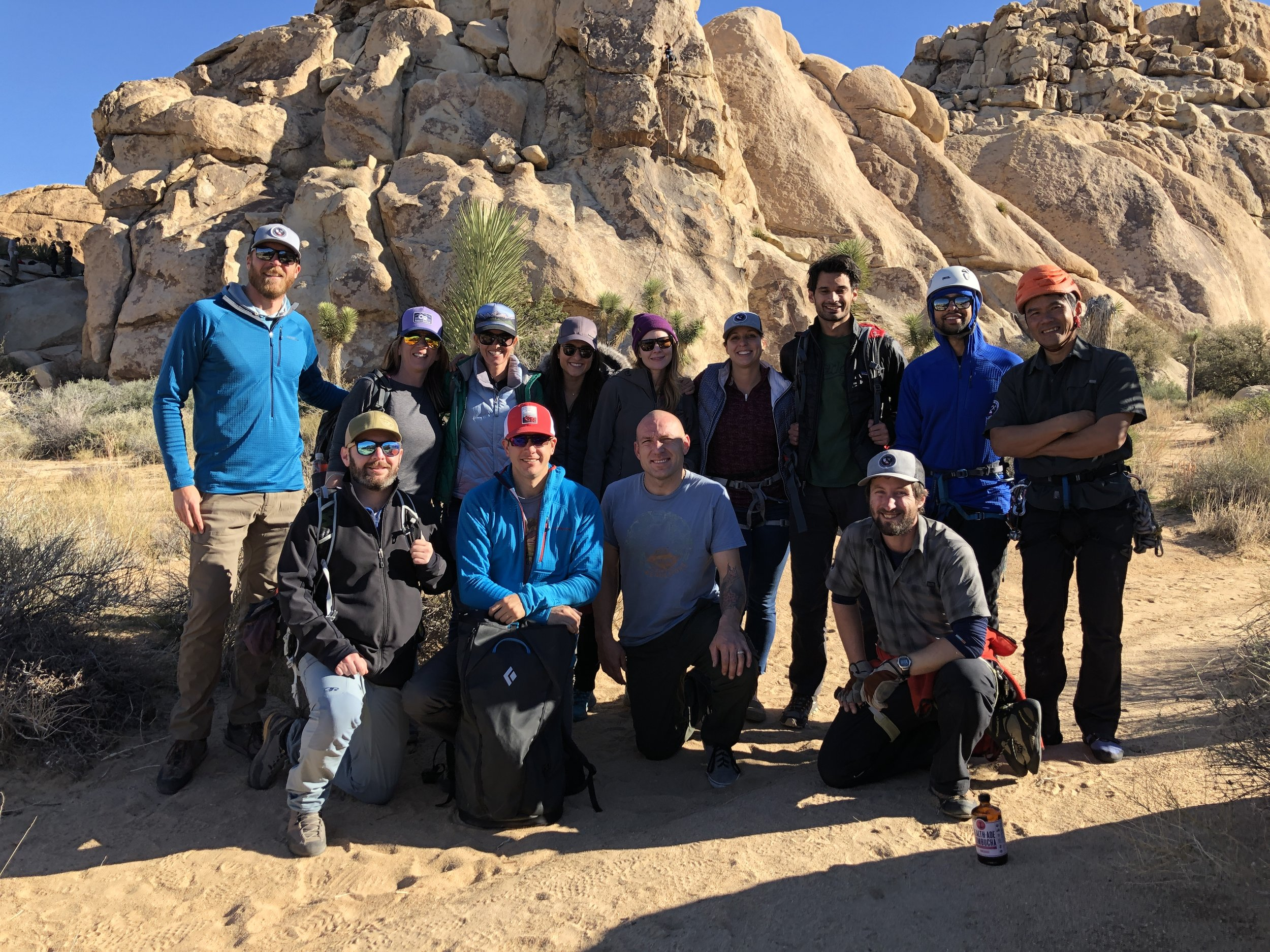 BBQ's x BELAY's x BEER's Joshua Tree National Park