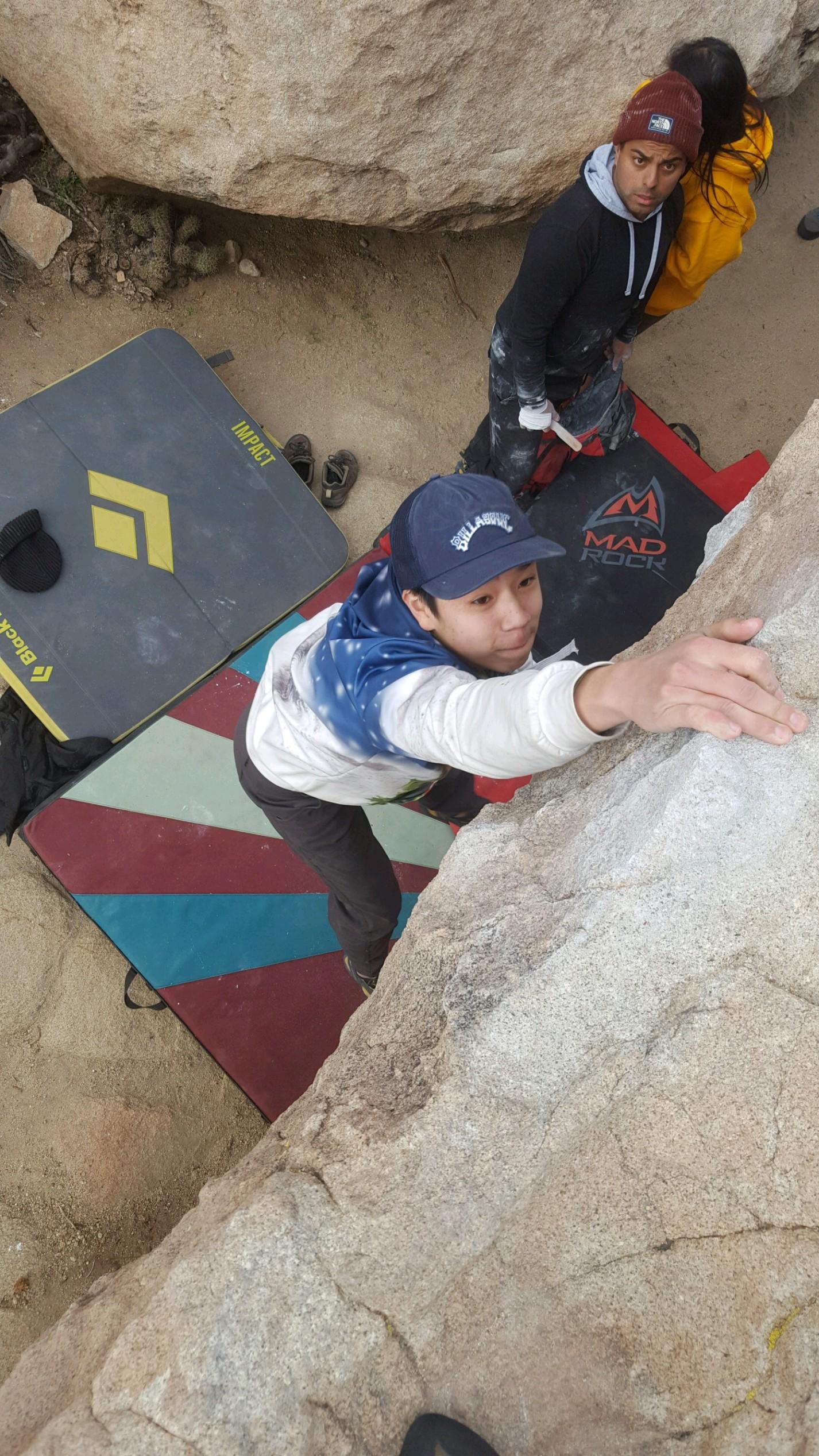 Mount Woodson Bouldering
